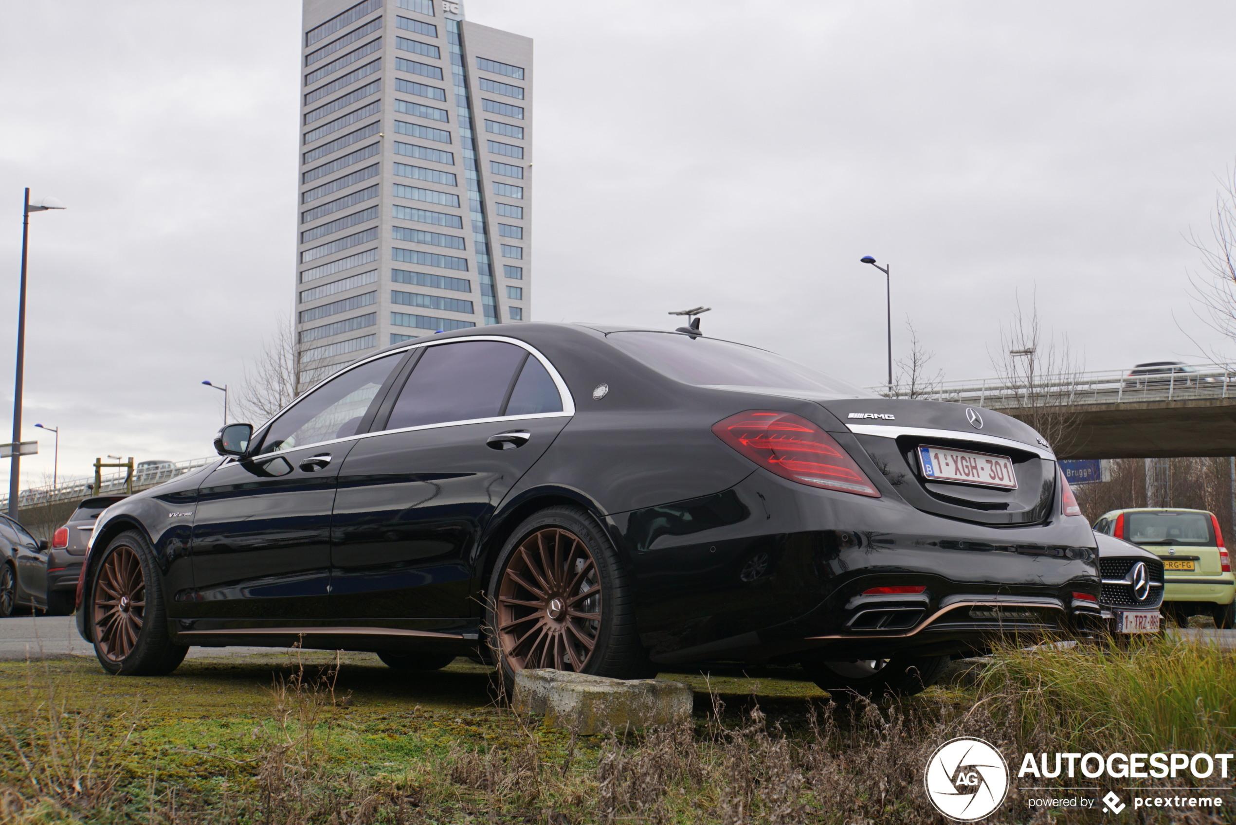 Geniet van deze Mercedes-AMG S 65 Final Edition