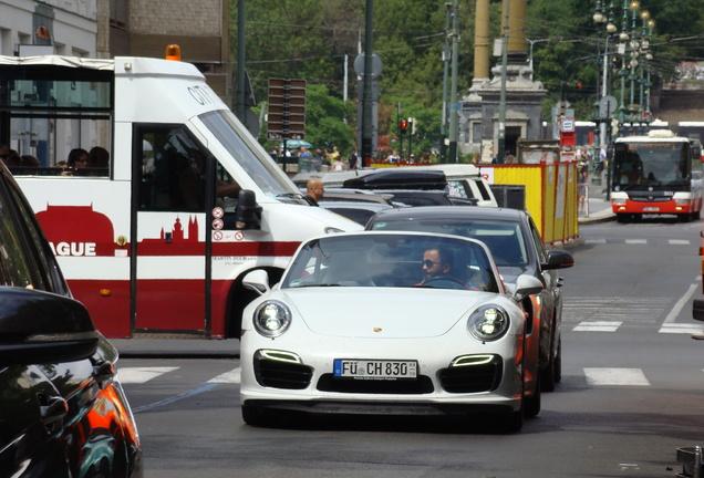 Porsche 991 Turbo S Cabriolet