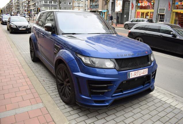 Land Rover Lumma Range Rover Sport SVR CLR RS