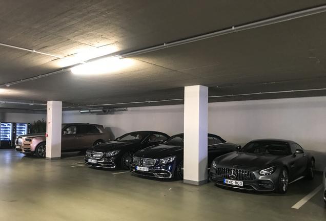 Mercedes-AMGGT C C190 2019