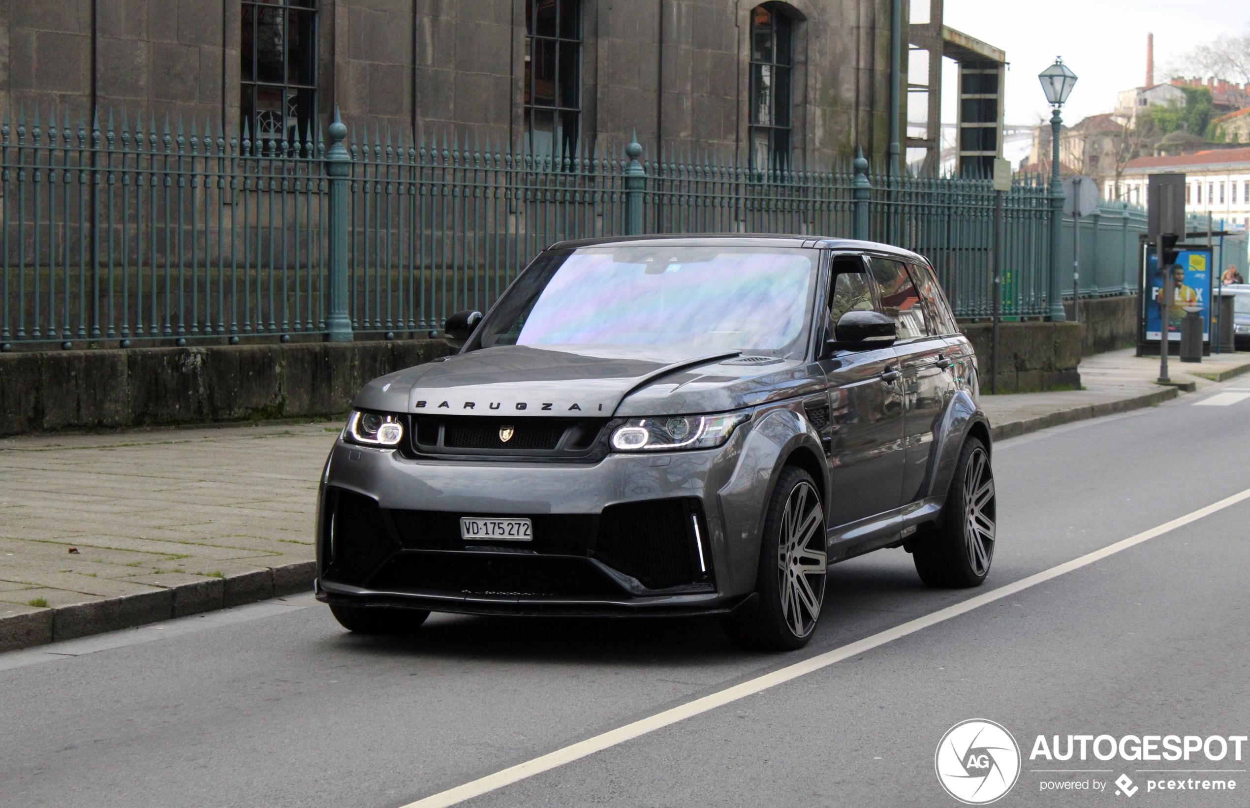 Range Rover Sport SVR Barugzai is het eigenlijk net niet