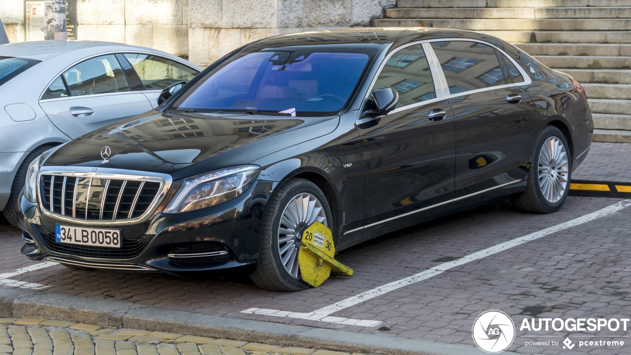 Mercedes-Maybach S 600 mag nergens meer heen
