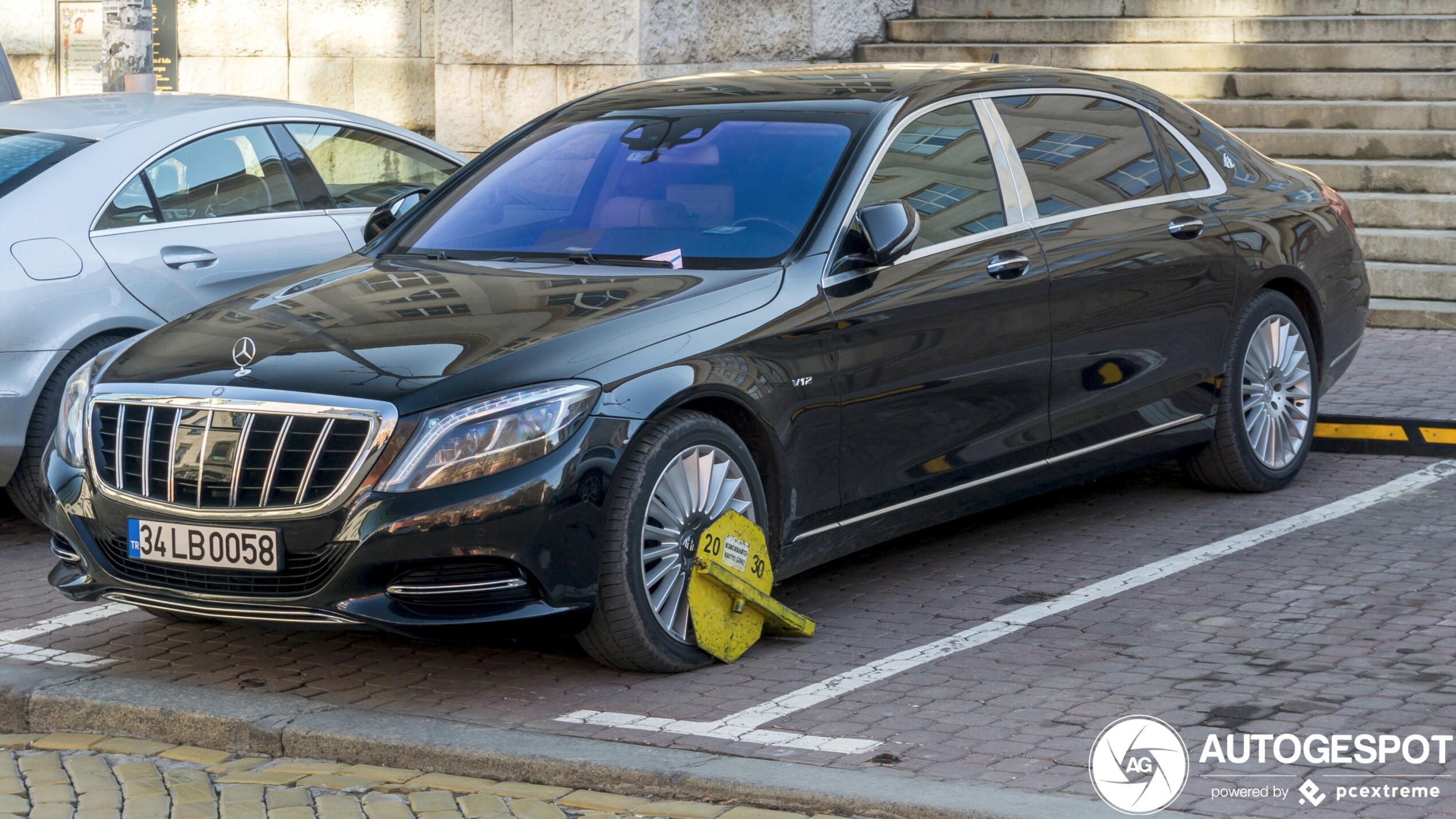 Mercedes Maybach S 600 is not going anywhere!