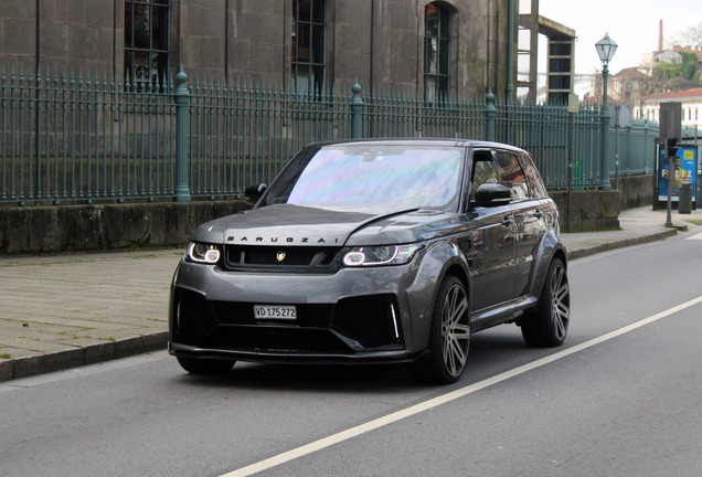 Land Rover Range Rover Sport SVR Barugzai
