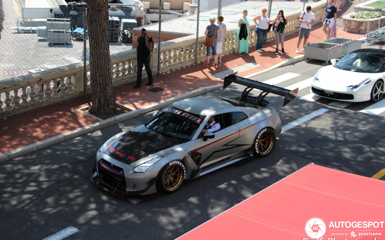Nissan GT-R Brill Steel x Rocket Bunny