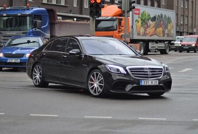 Mercedes-AMGS 63 V222 2017