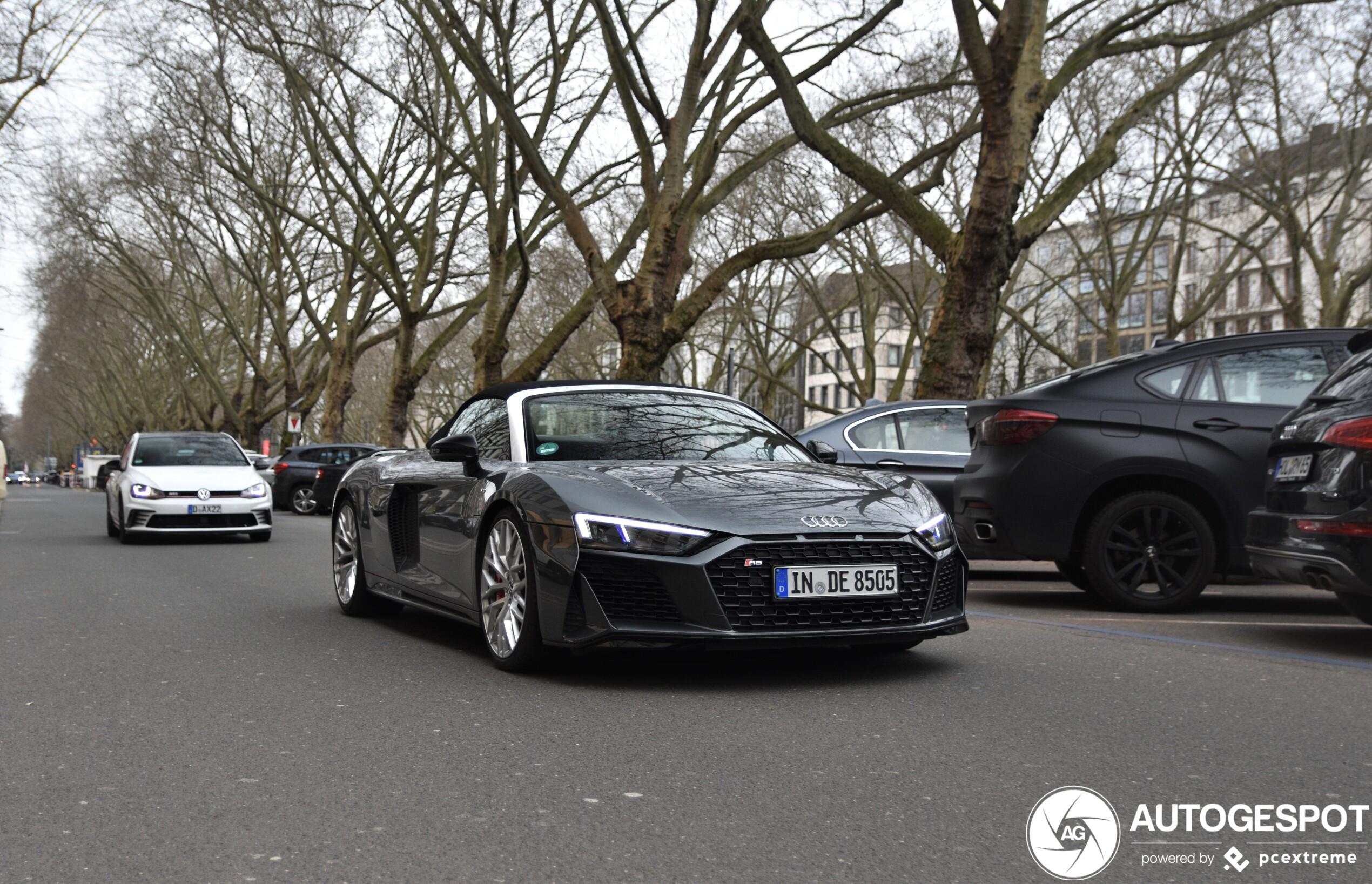 Audi R8 V10 Spyder Performance 2019