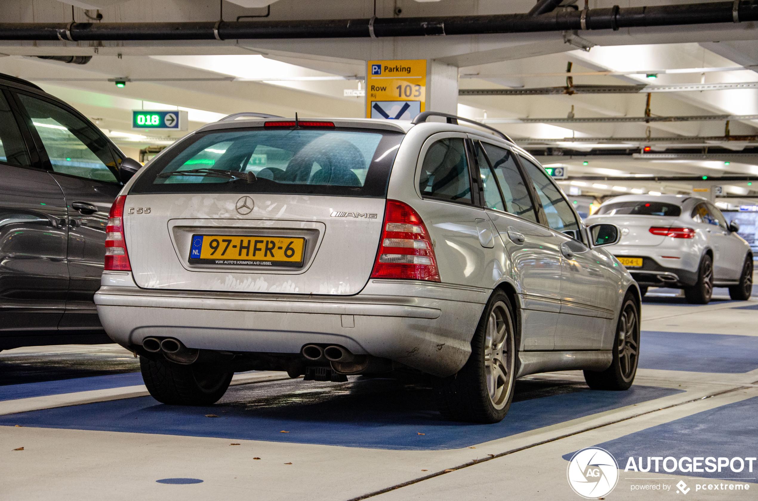 Oud maar goud: Mercedes-Benz C 55 AMG Combi
