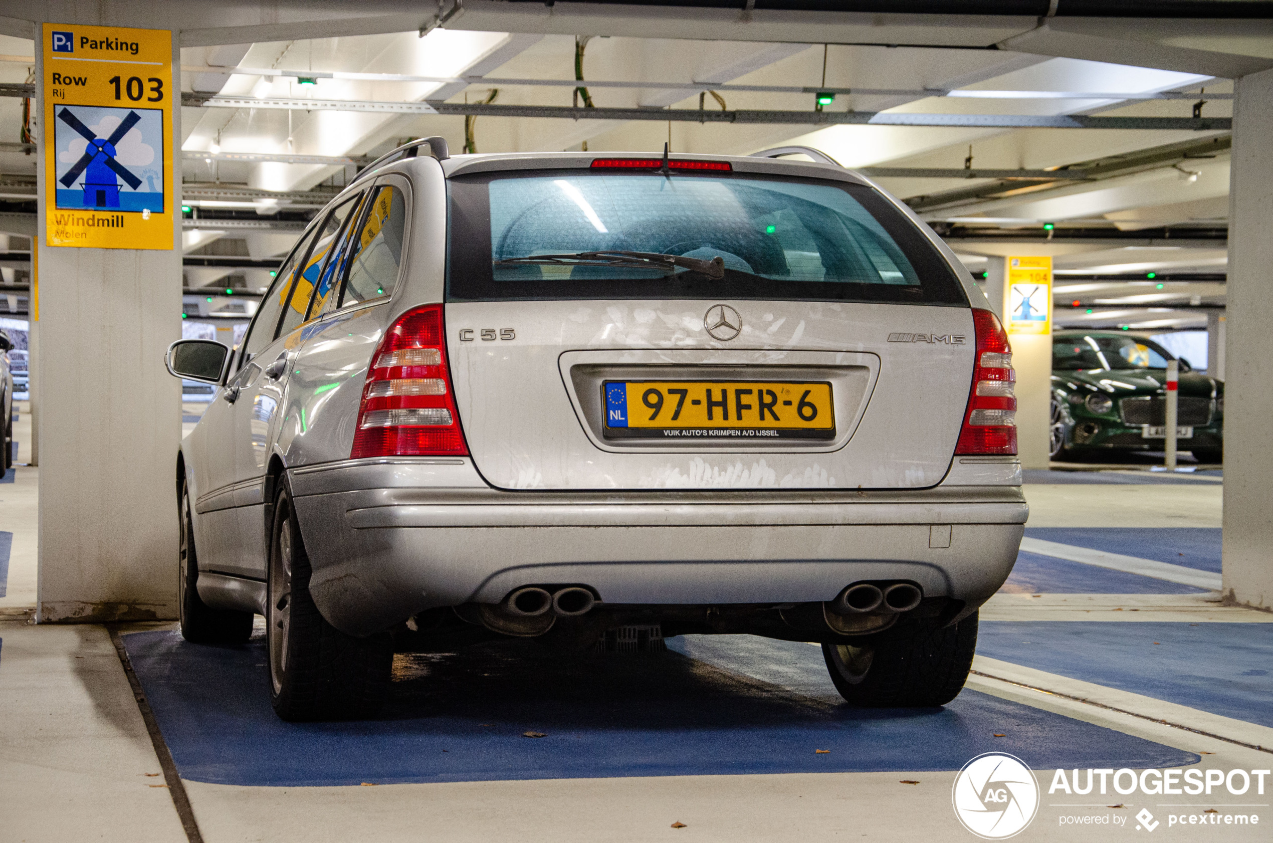 Old but gold: Mercedes-Benz C 55 AMG Combi