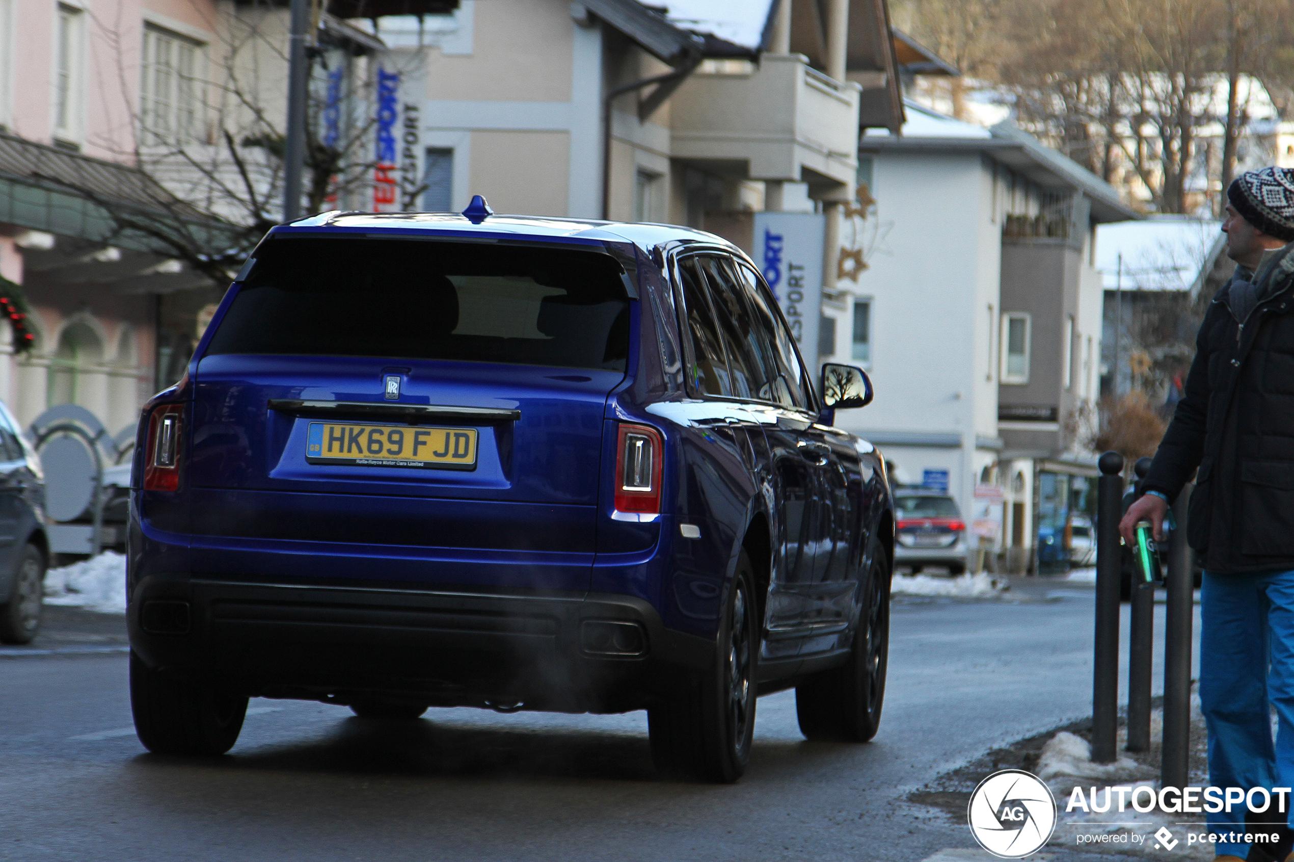 Uitermate luxe met de Rolls-Royce Cullinan Black Badge
