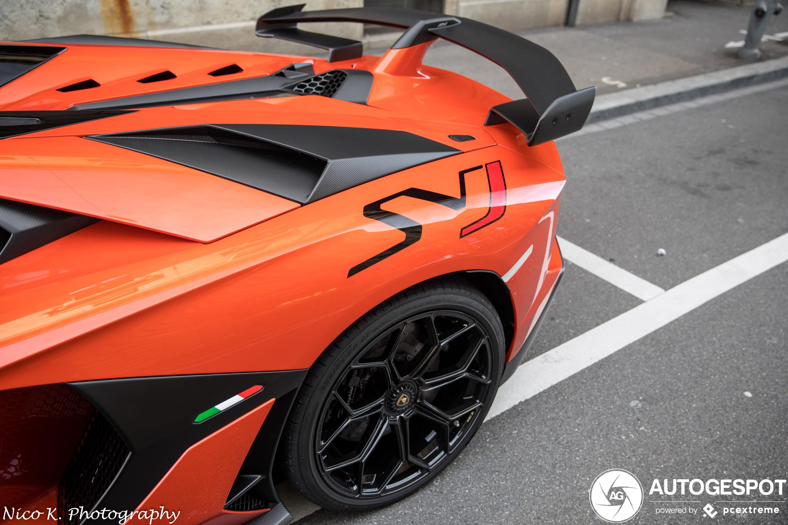 Lamborghini Aventador Lp770 4 Svj Roadster 22 February 2020 Autogespot