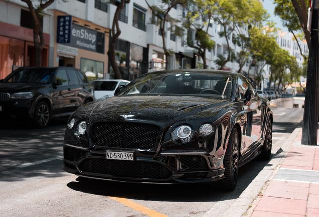 BentleyContinental Supersports Coupé 2018