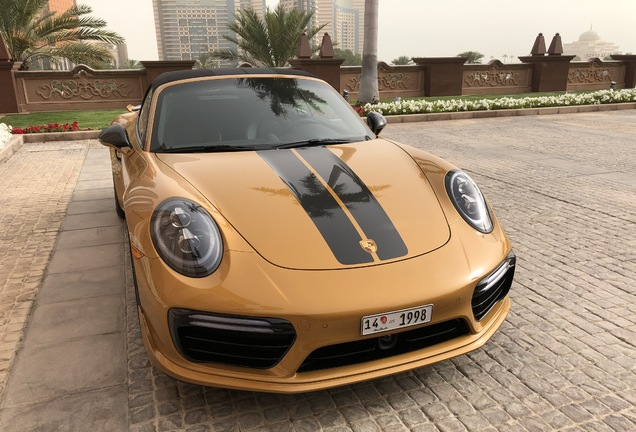 Porsche 991 Turbo S Cabriolet MKII Exclusive Series