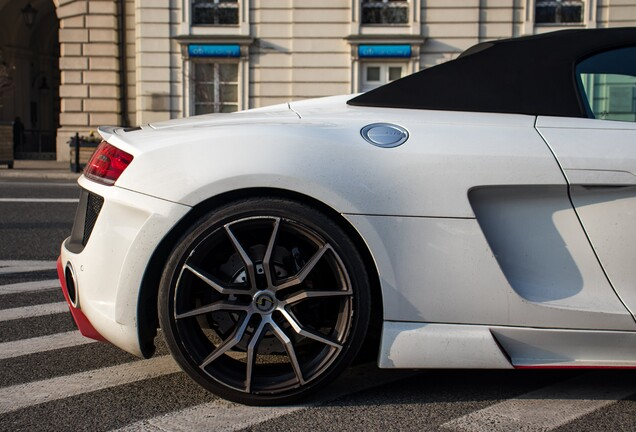 Audi R8 V10 Spyder 2013 Regula Tuning