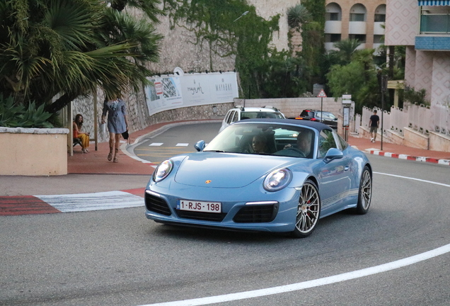 Porsche 991 Targa 4S MkII Exclusive Design Edition