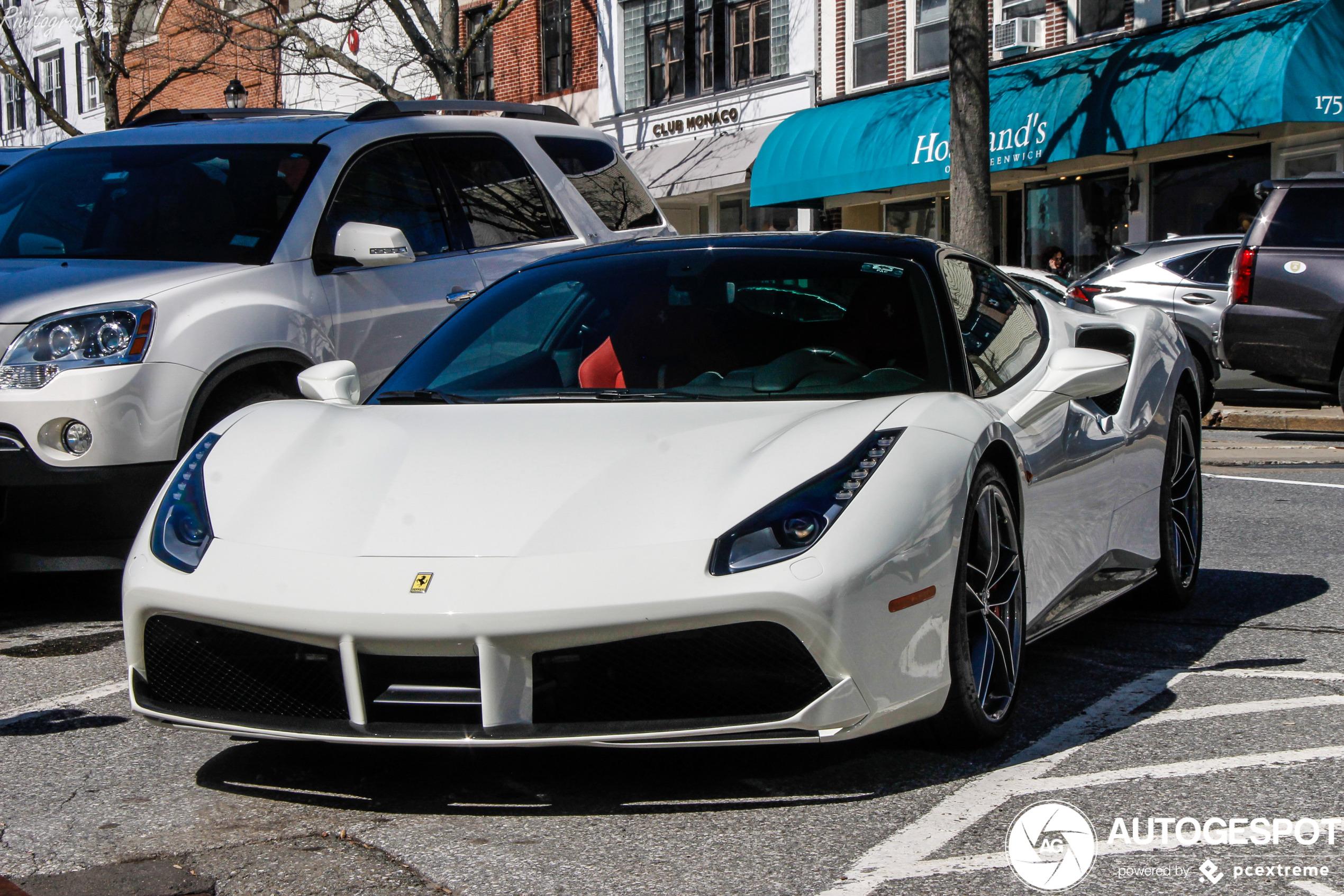 Spot Of The Day Usa Ferrari 488 Gtb