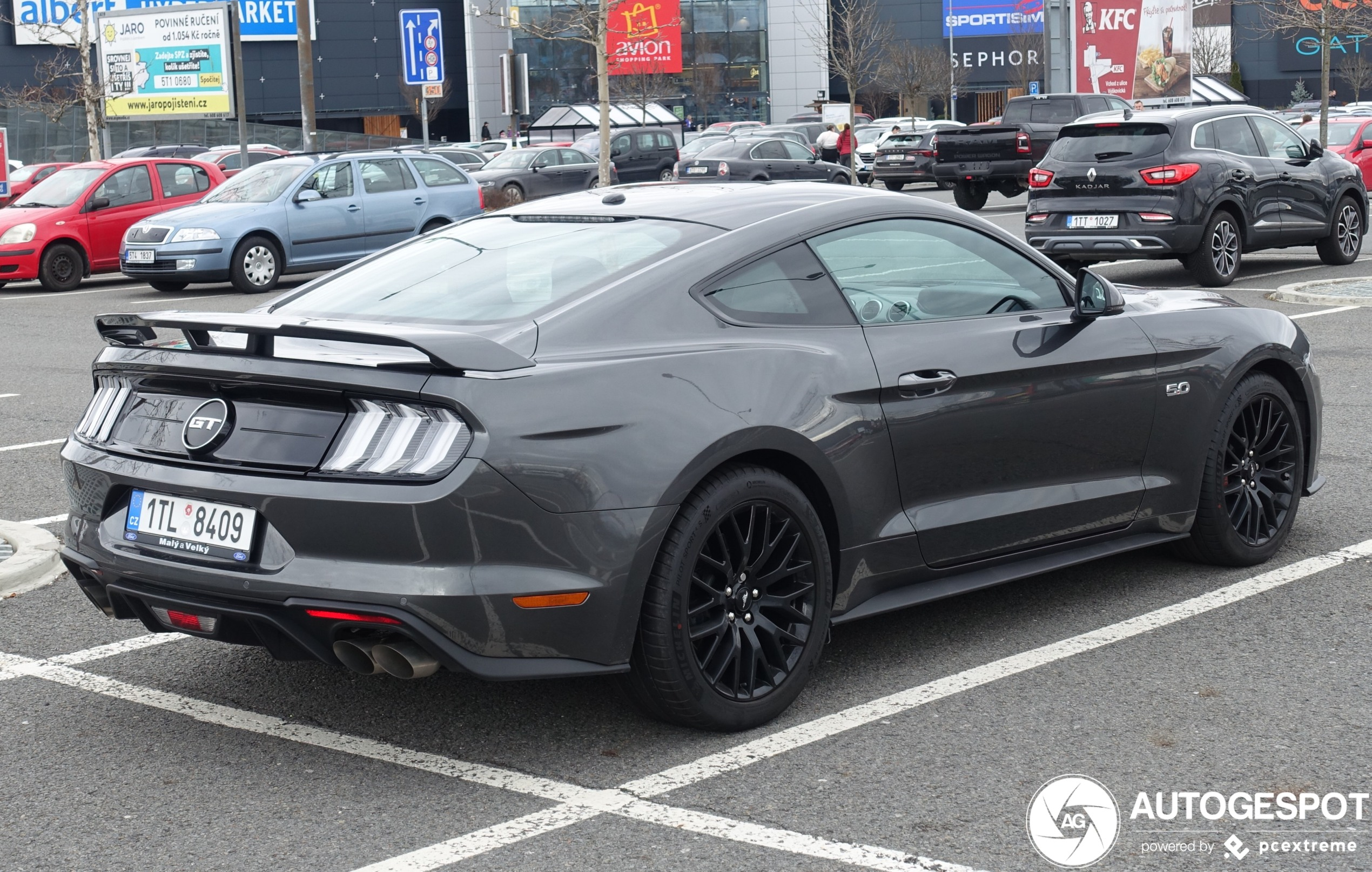 2020 Ford Mustang Gt Coupe Premium Weight