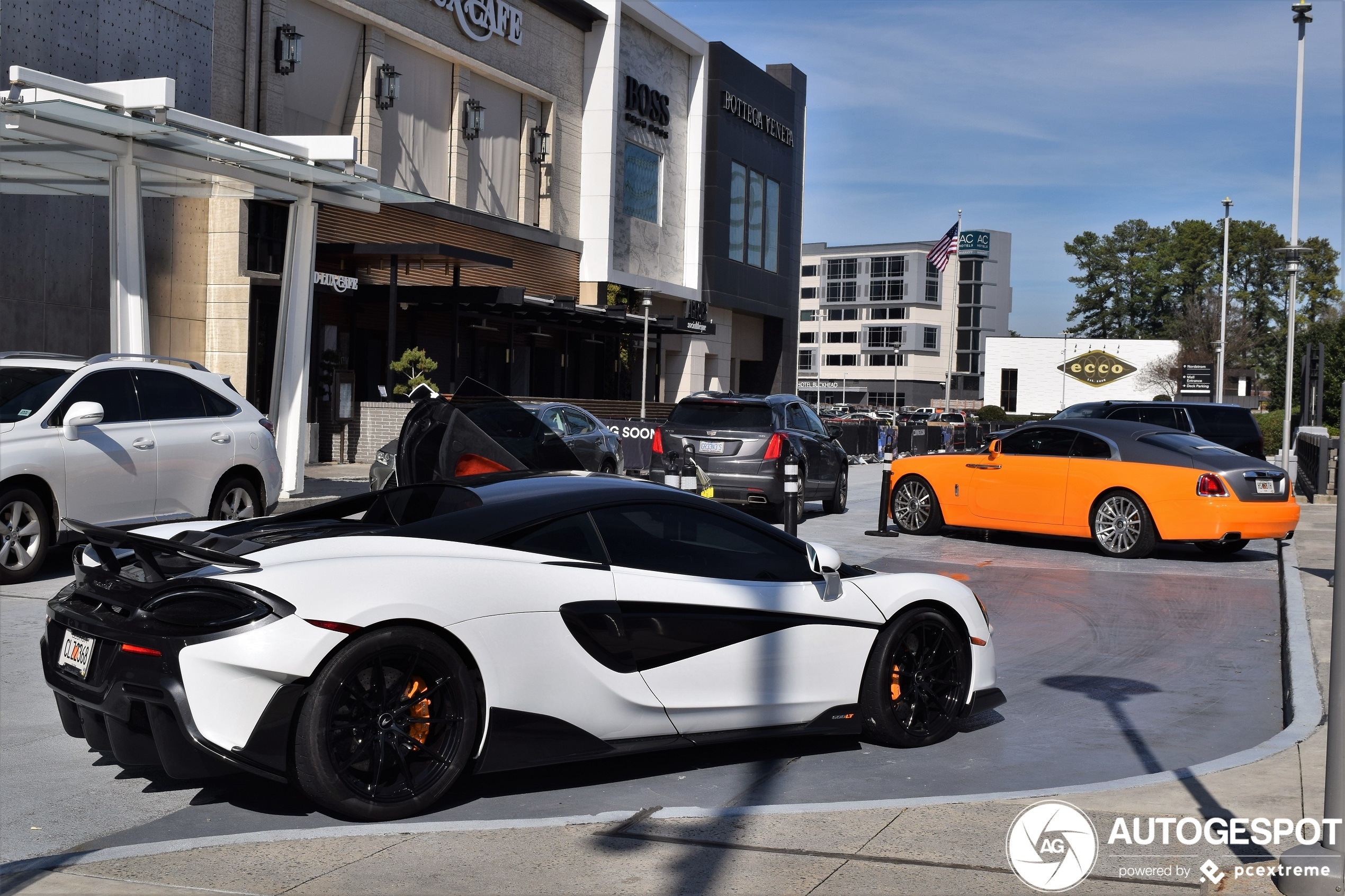 Spot of the day USA: Mclaren 600LT