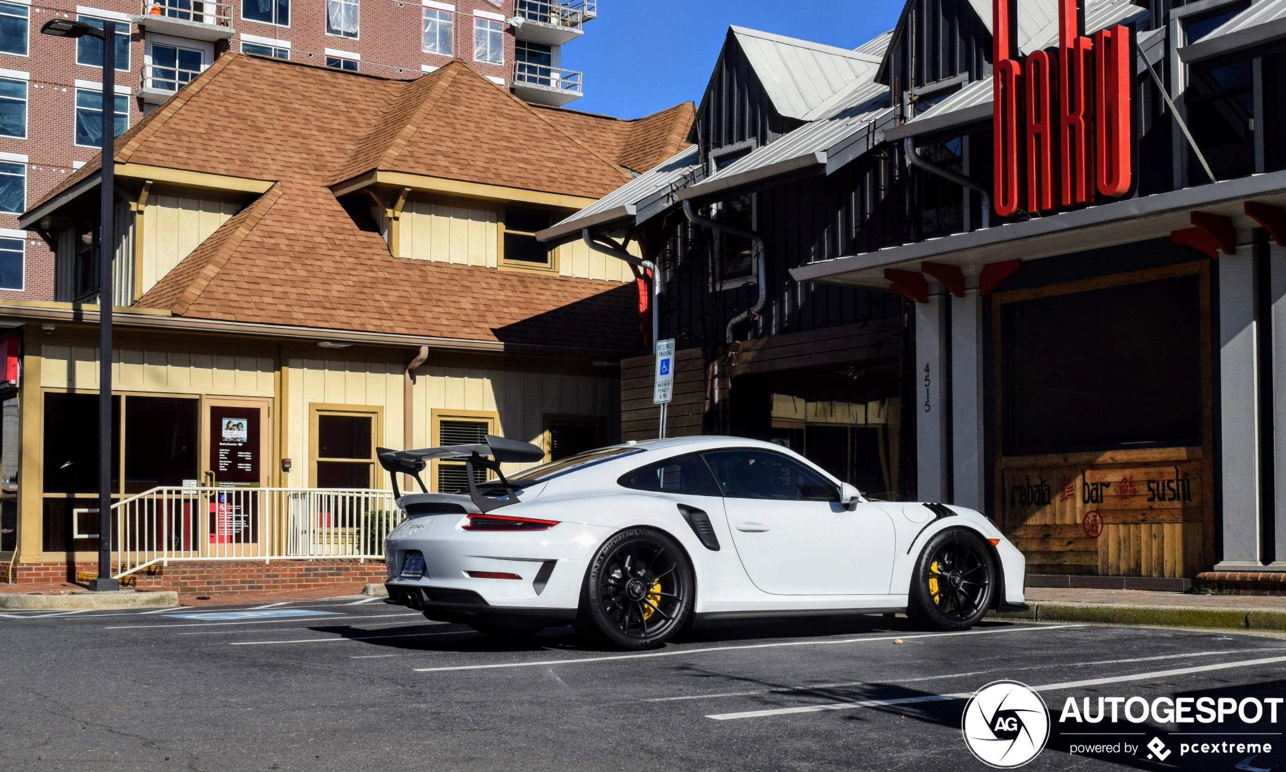 Spot of the day Usa: Porsche 991 GT3 RS mk2