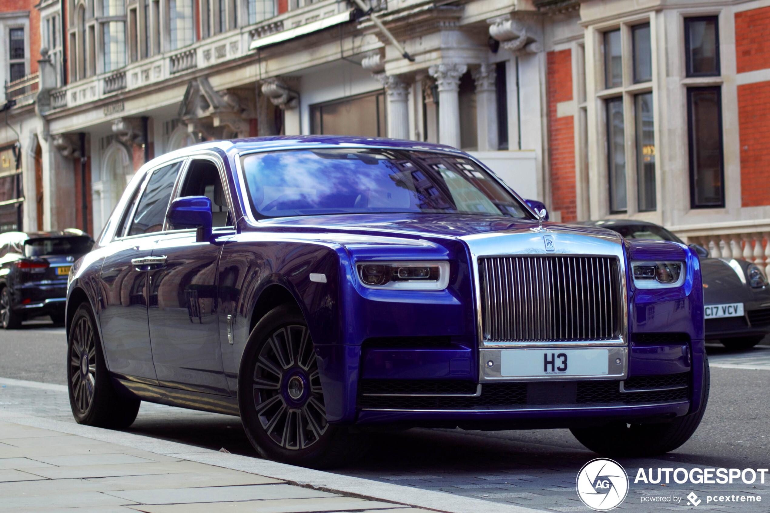 2020 Rolls Royce Phantoms Release