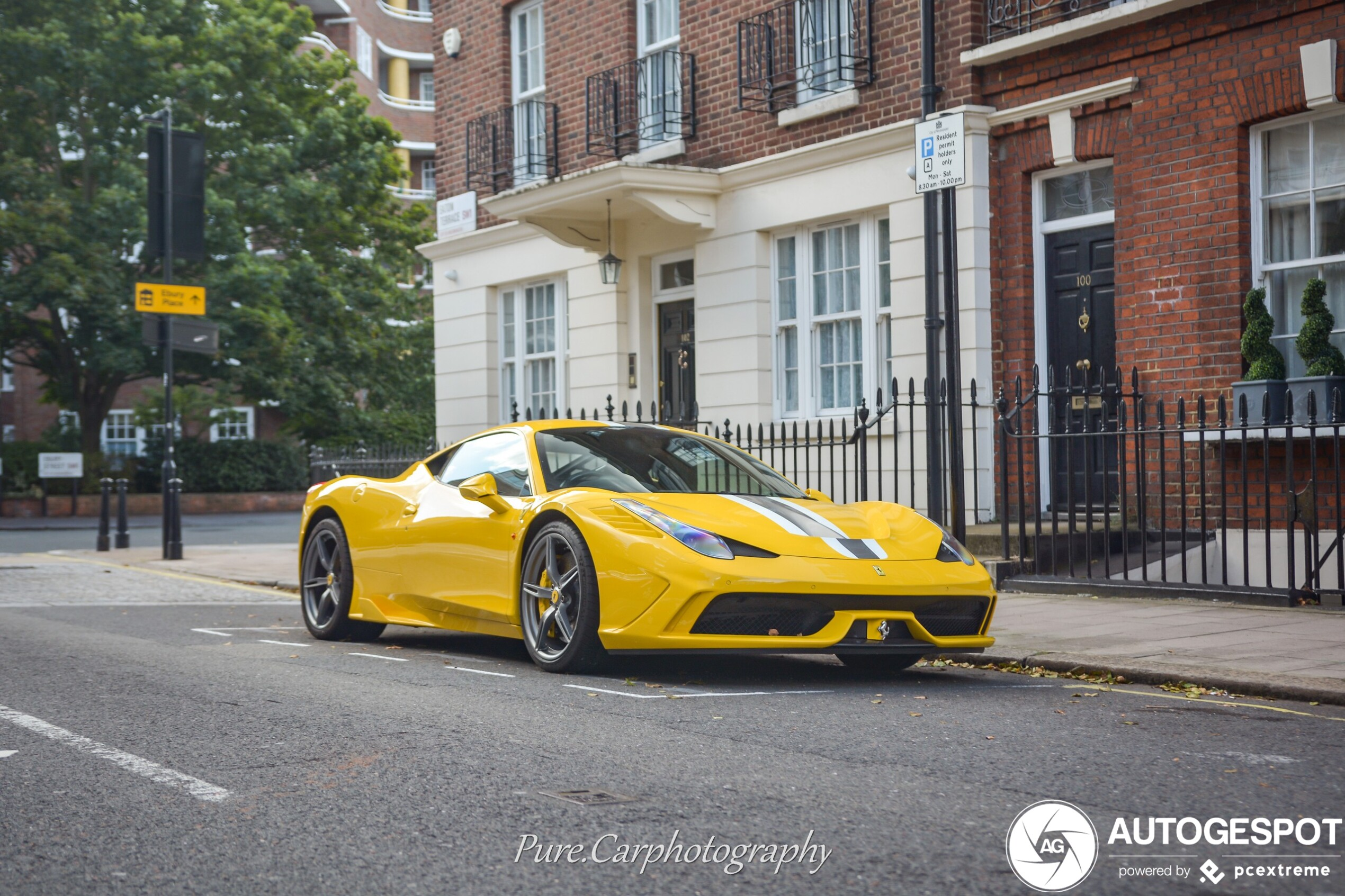 Spot Of The Day United Kingdom Ferrari 458 Speciale
