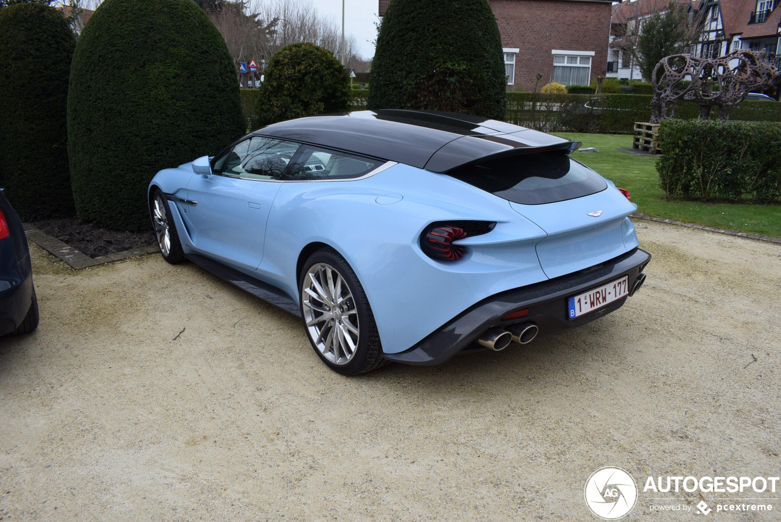 Aston Martin Vanquish Zagato Shooting Brake 7 Marzo 2020 Autogespot