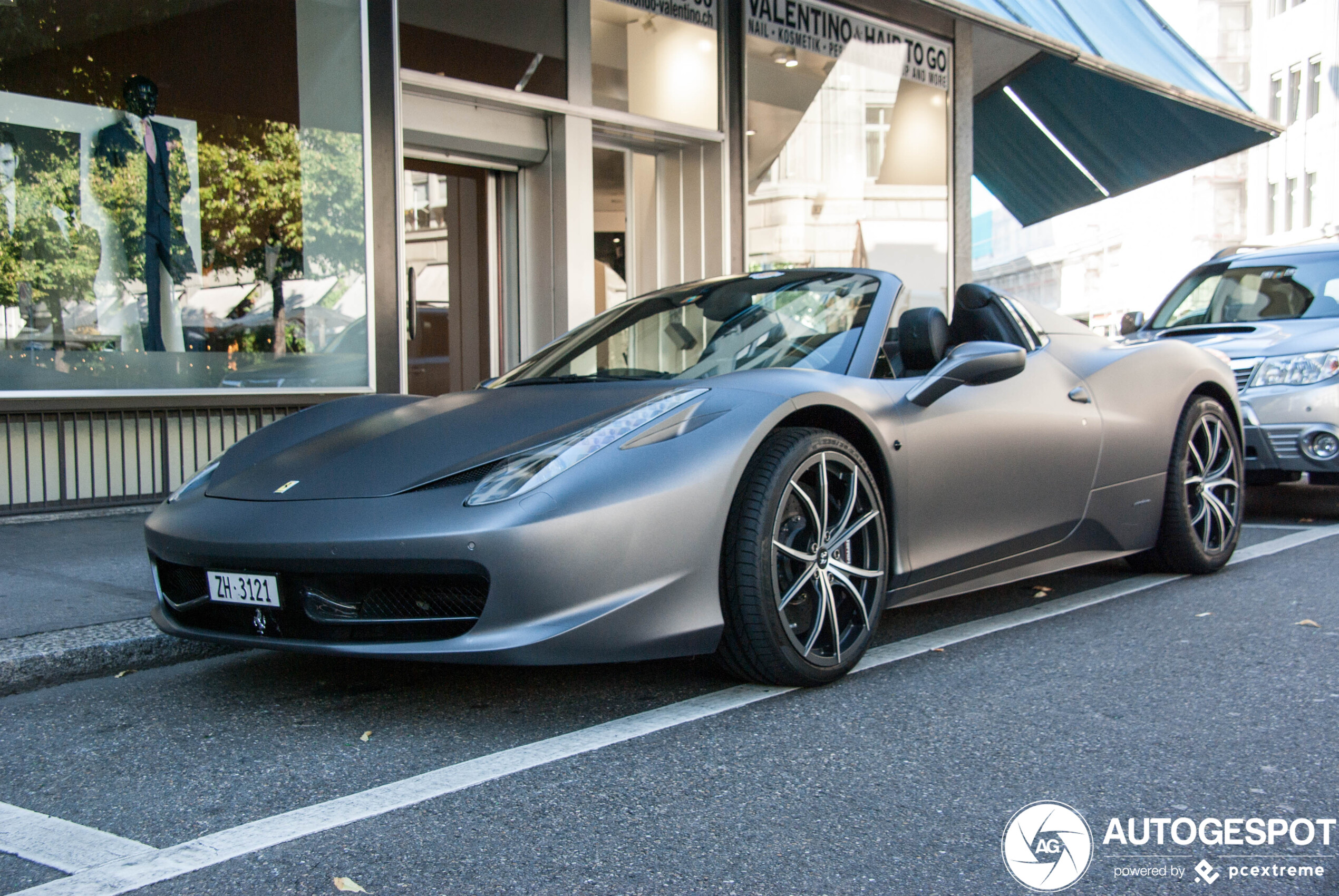 Ferrari 458 Spider - 7 March 2020 - Autogespot