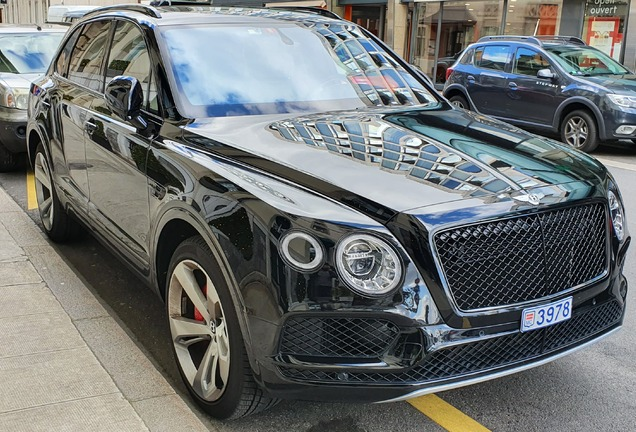 Bentley Bentayga Black Edition