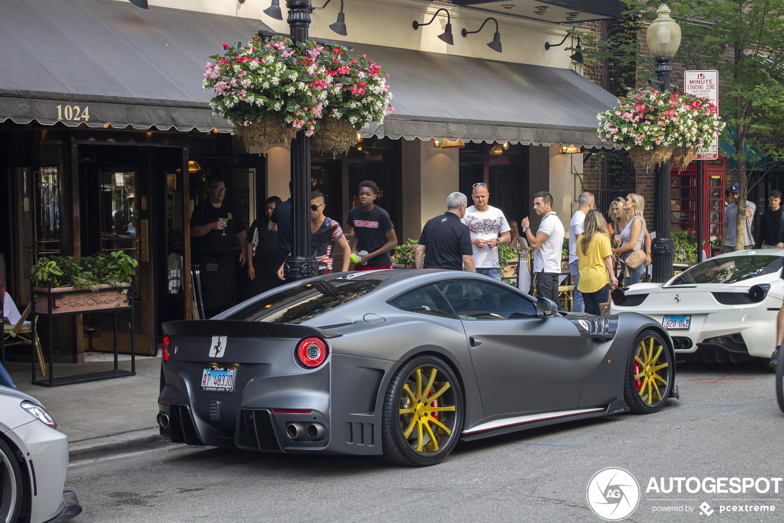 Spot of the day USA: Ferrari F12berlinetta Creative Bespoke SVR
