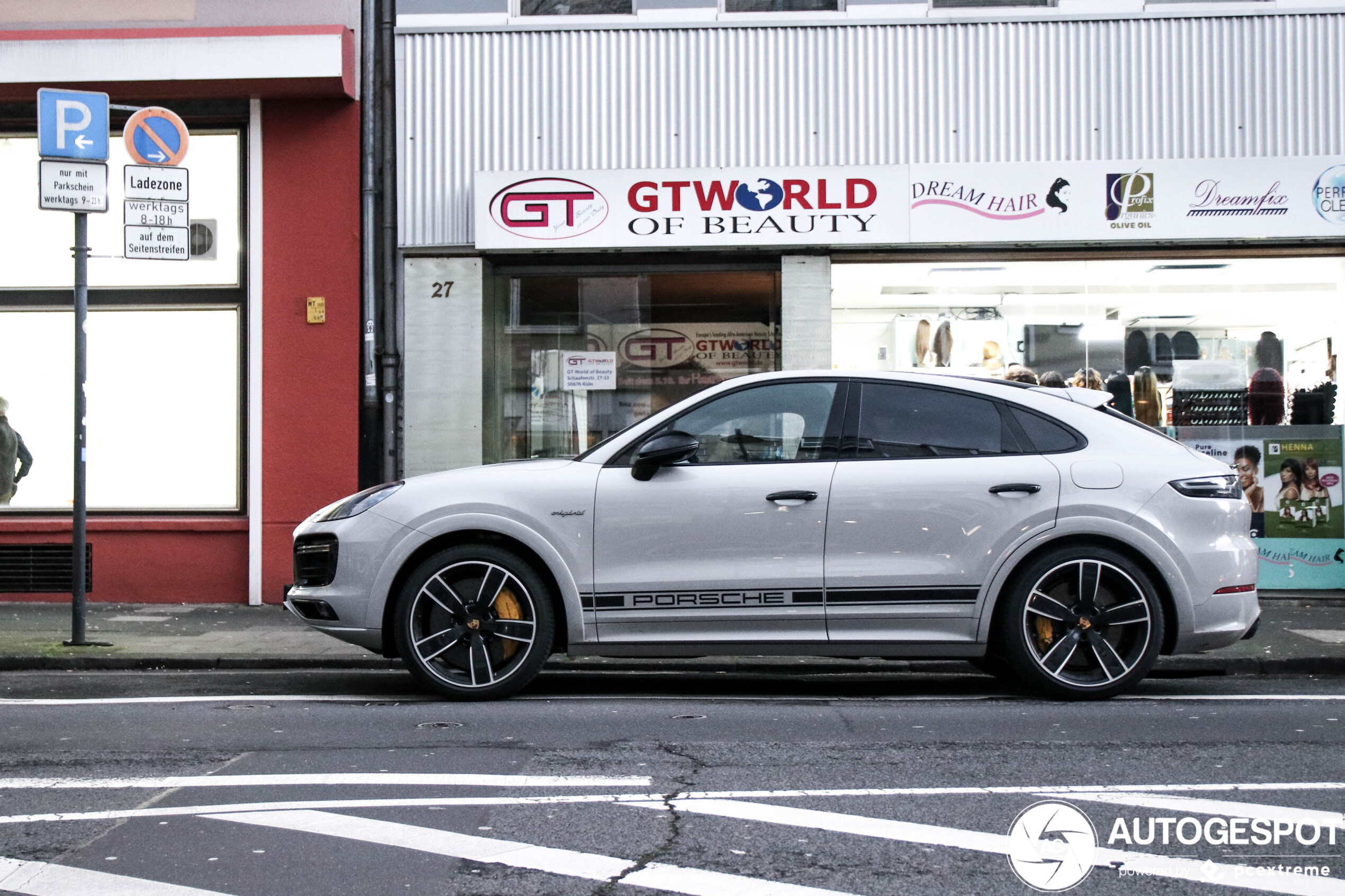 Porsche Cayenne Coupe Turbo S E Hybrid 8 March 2020 Autogespot