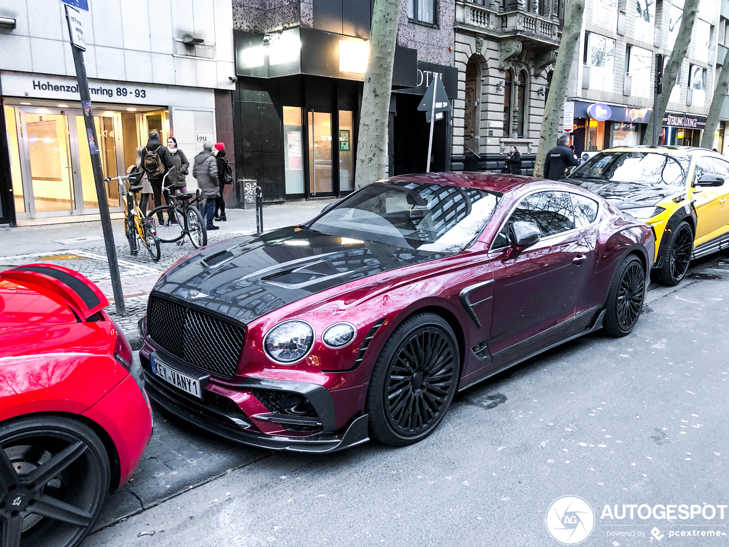 "Topspot: Bentley KEYVANY Continental GT Limited ""1 of 20"""