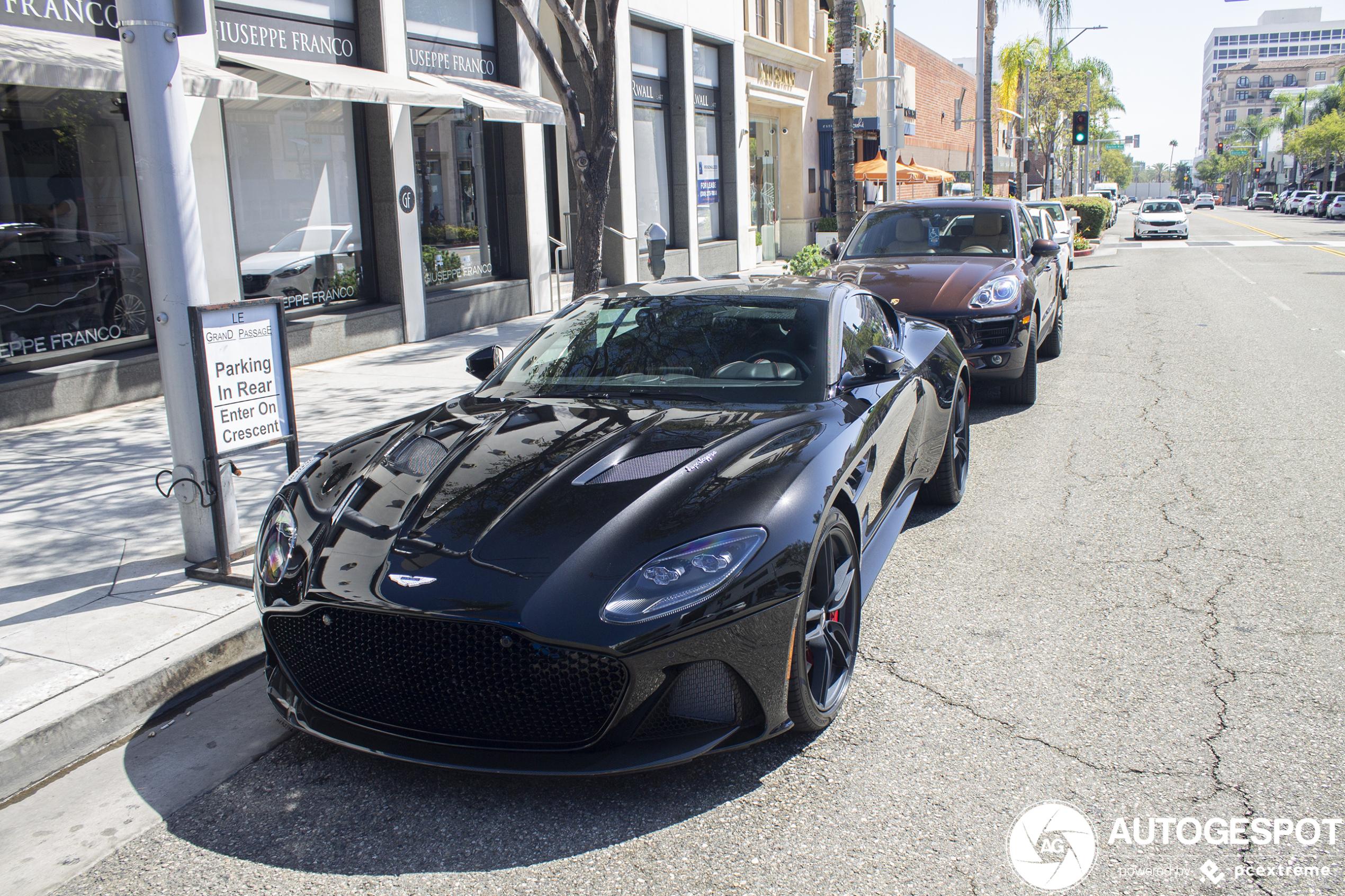 Aston Martin Dbs Superleggera 11 M Rz 2020 Autogespot
