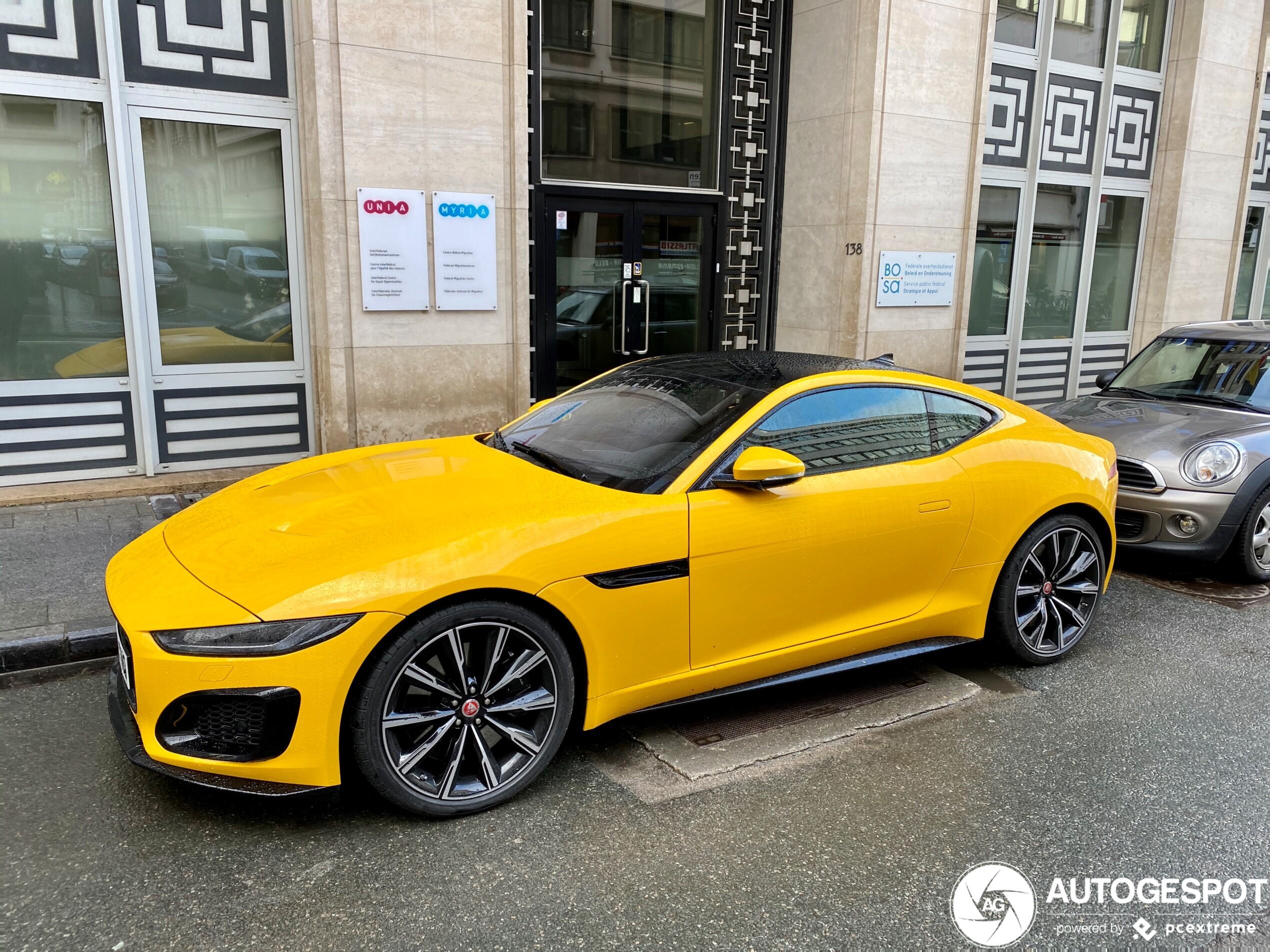 Jaguar F-TYPE R Coupé 2020 - 11 March 2020 - Autogespot