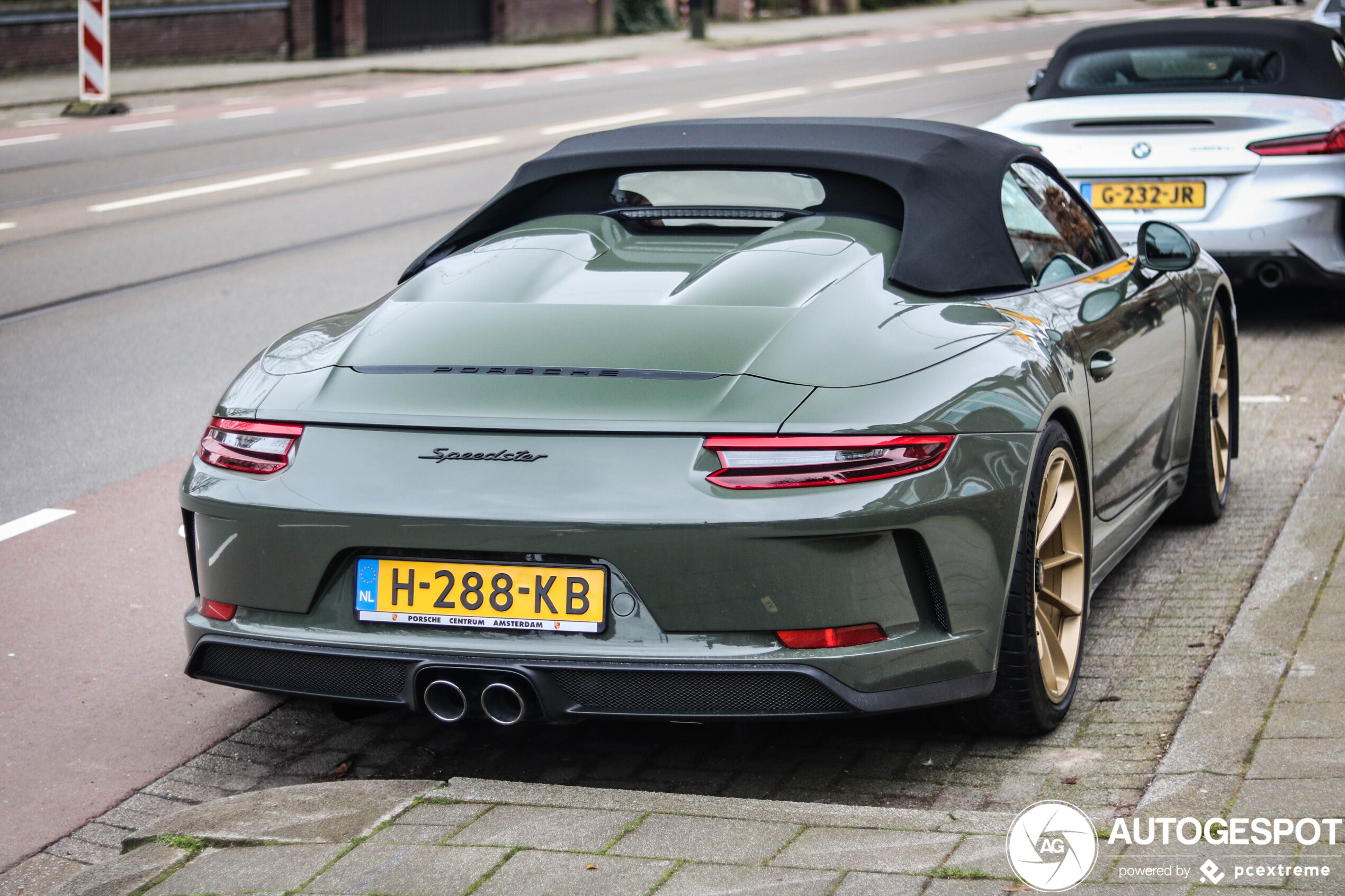 Porsche Speedster in a near perfect configuration