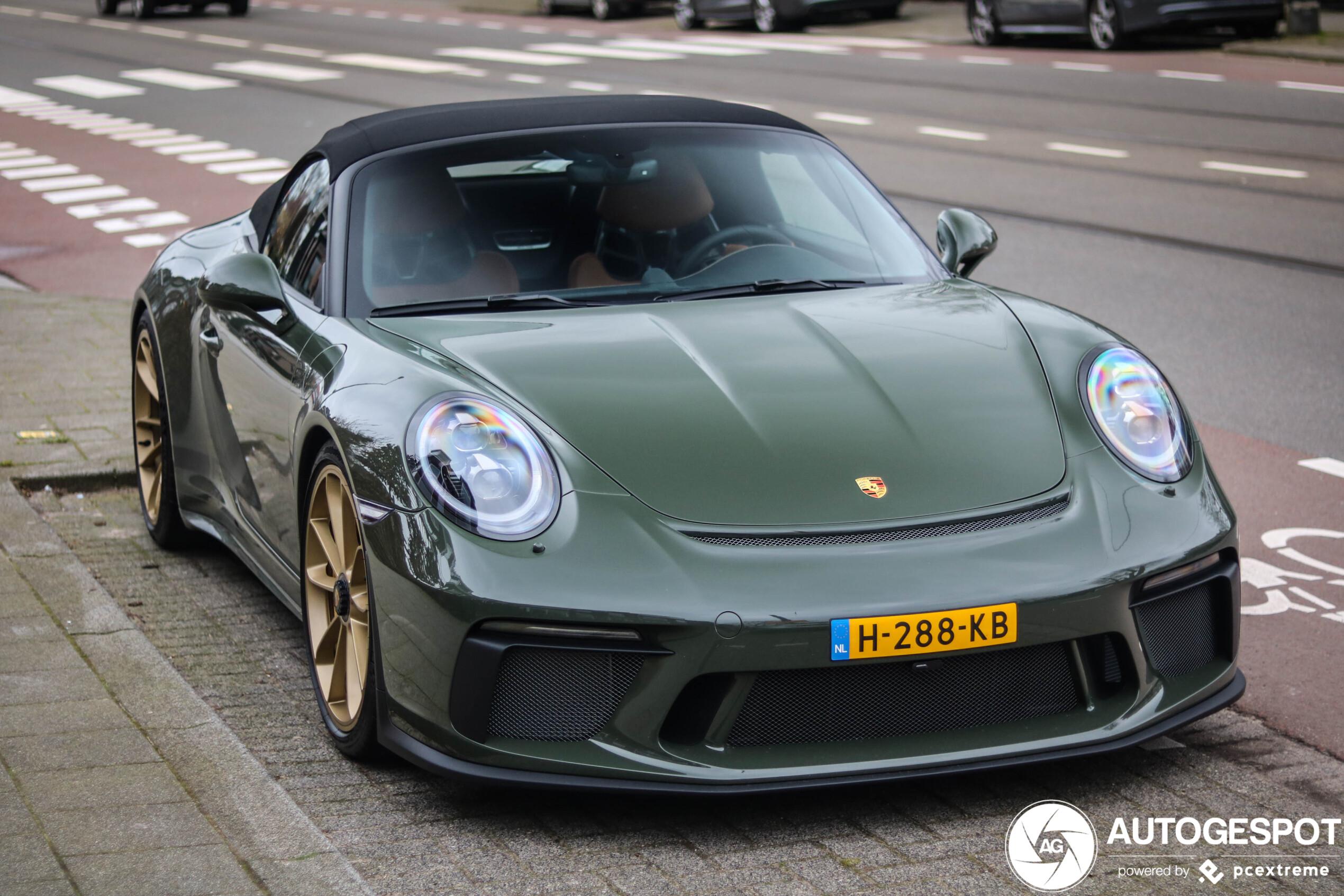 Porsche Speedster heeft een perfecte combinatie