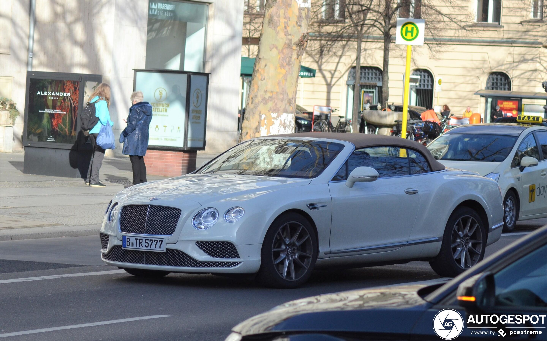 Bentley Continental GTC V8 2016