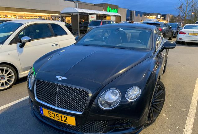 Bentley Continental GT Speed 2015
