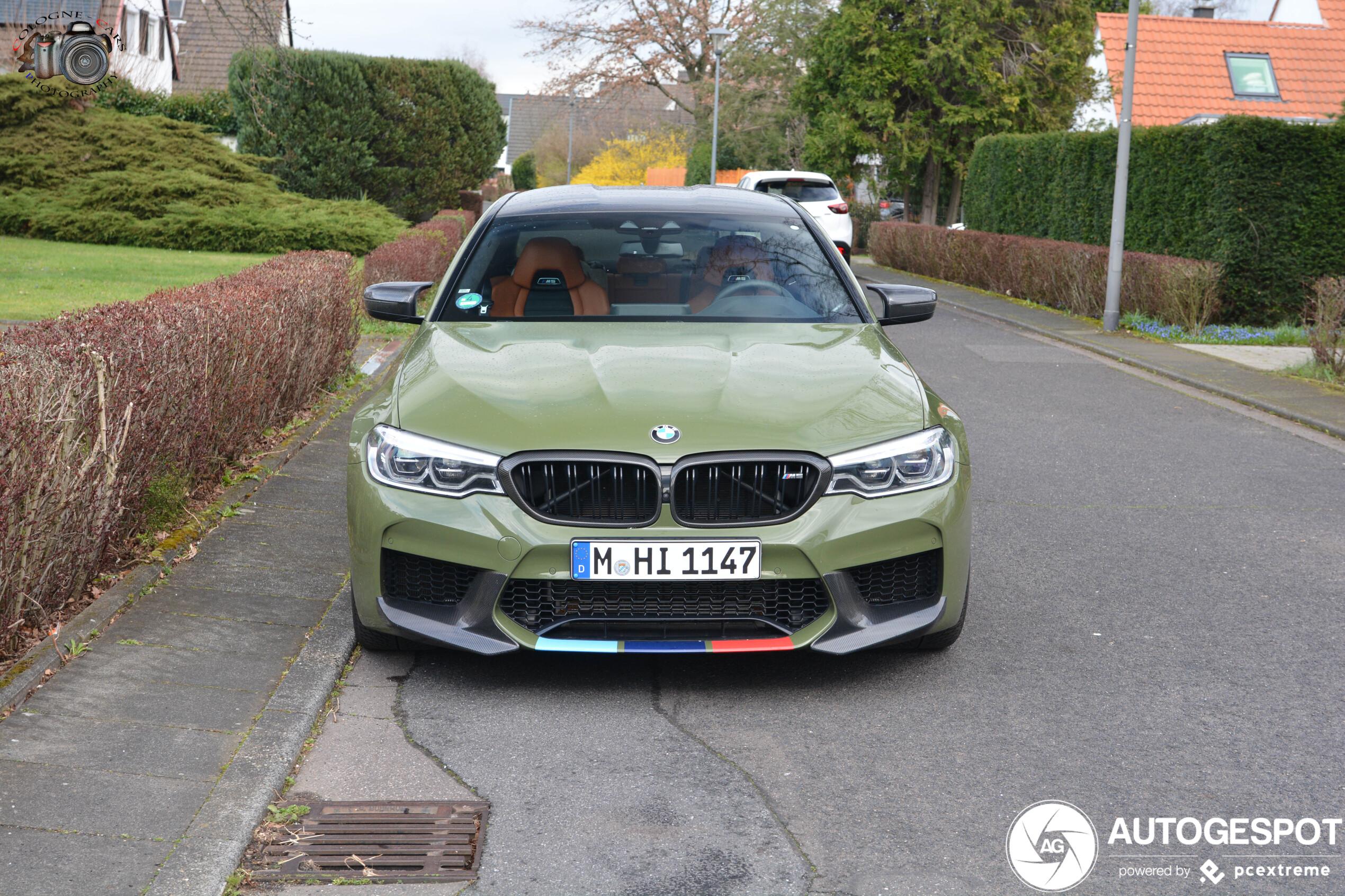 Duitse leger kan versterking krijgen van BMW M5 Competition