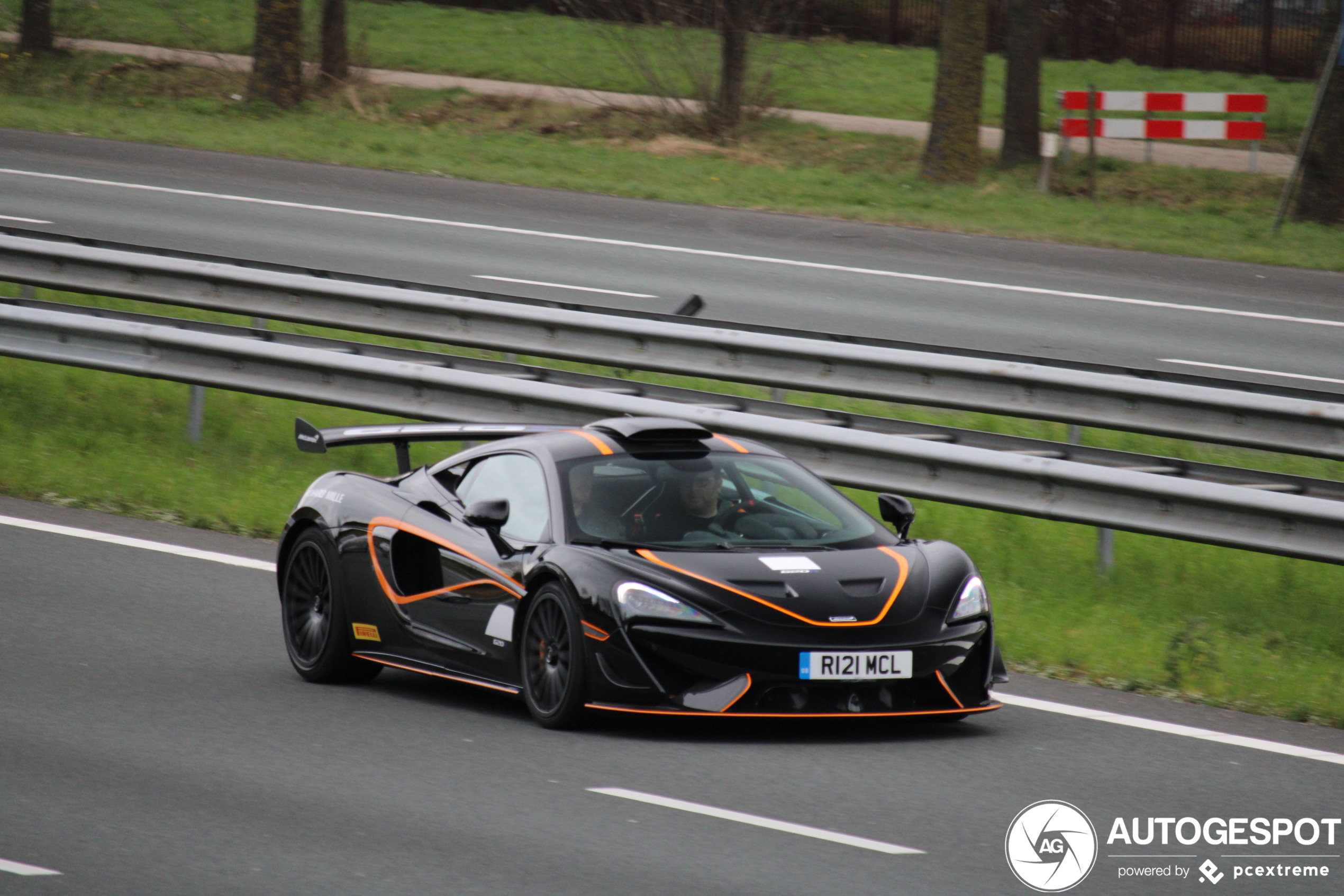 McLaren 620R takes a detour through Holland.
