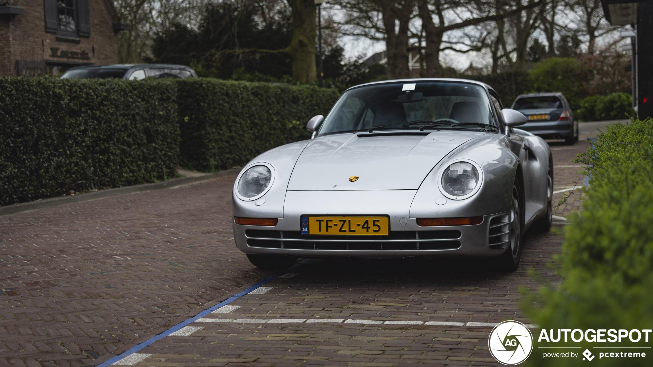 Deze Porsche 959 mag nog altijd buitenkomen