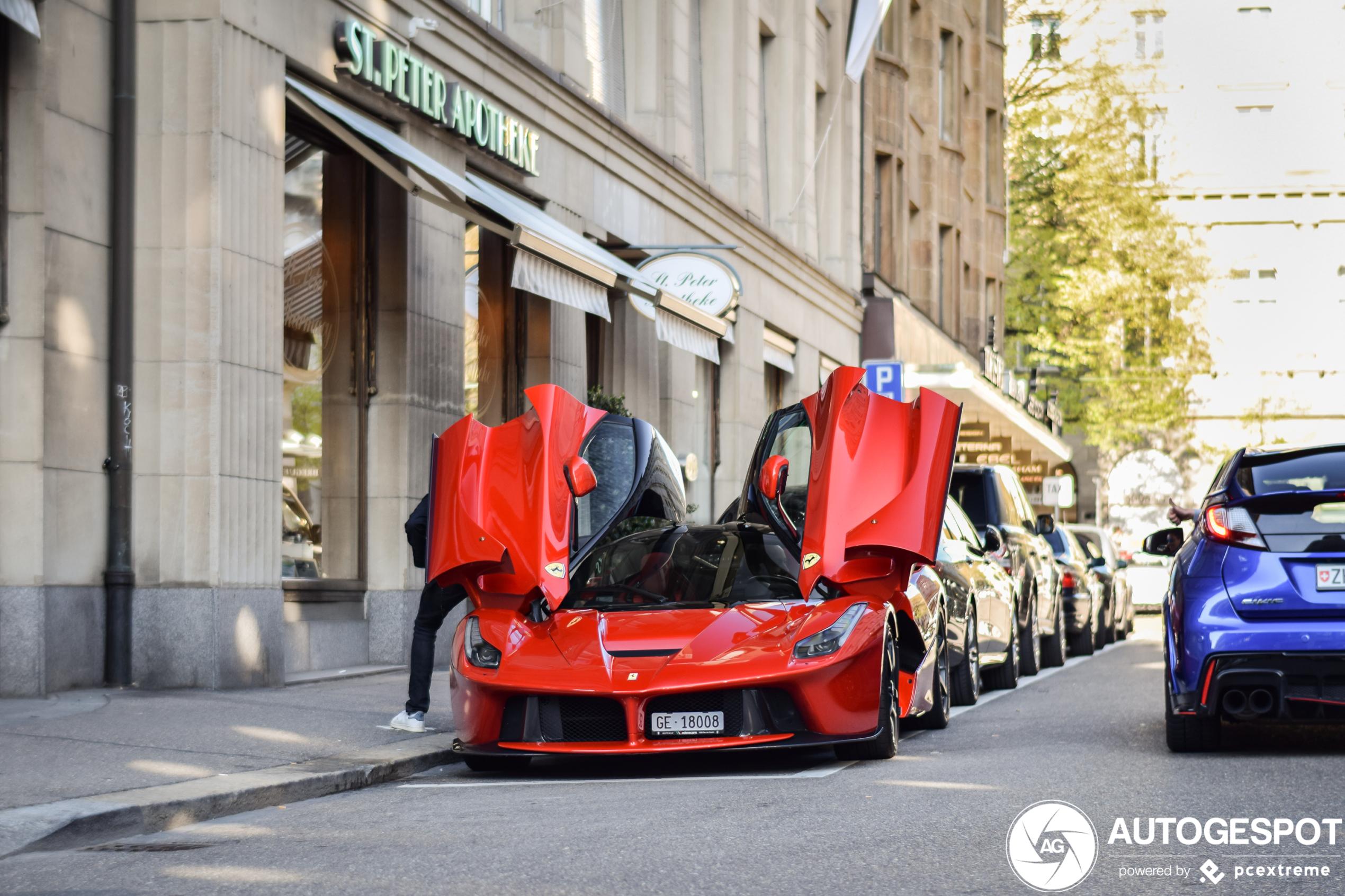 Ferrari LaFerrari blijft indruk maken