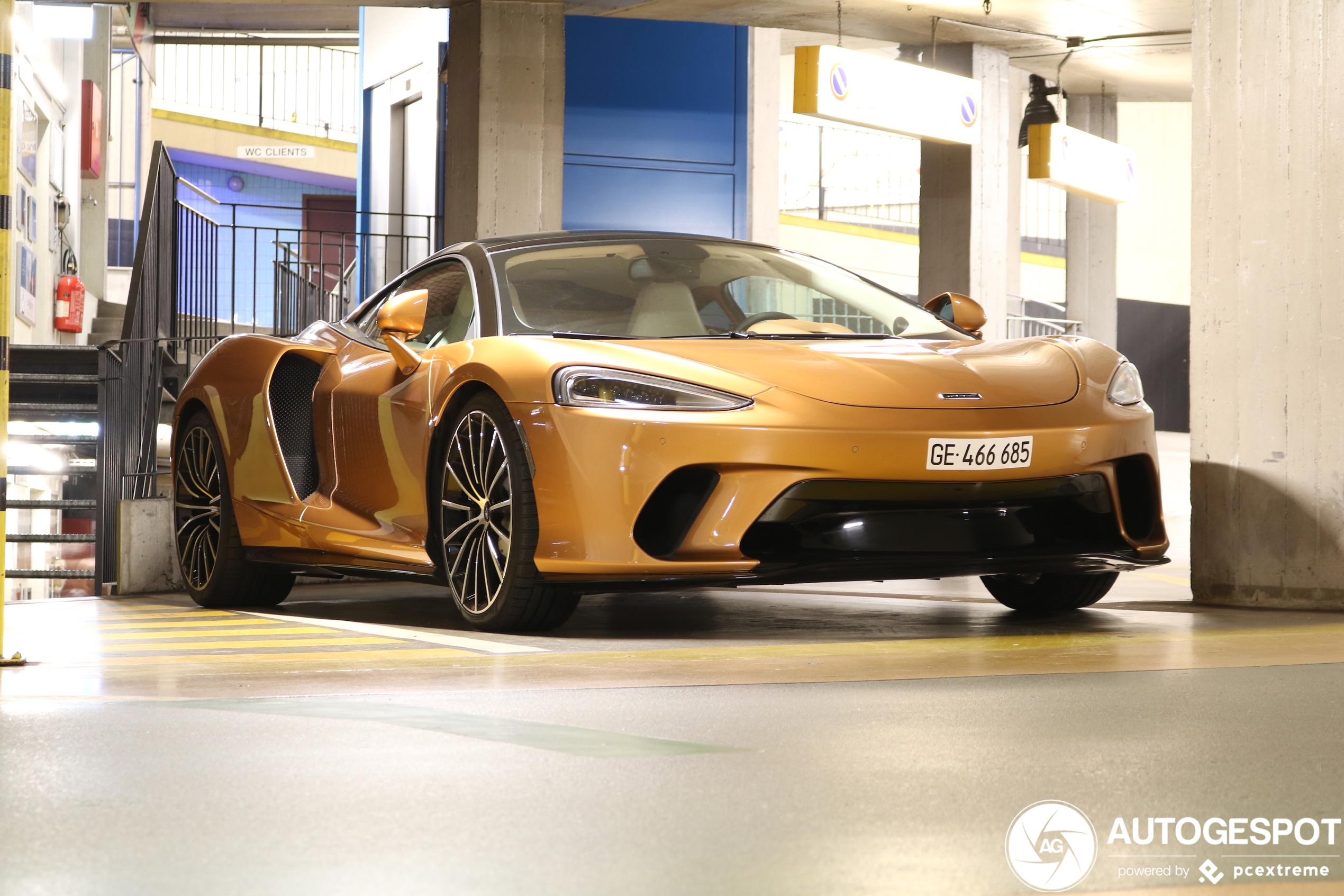 McLaren GT hoort niet in muffe garage