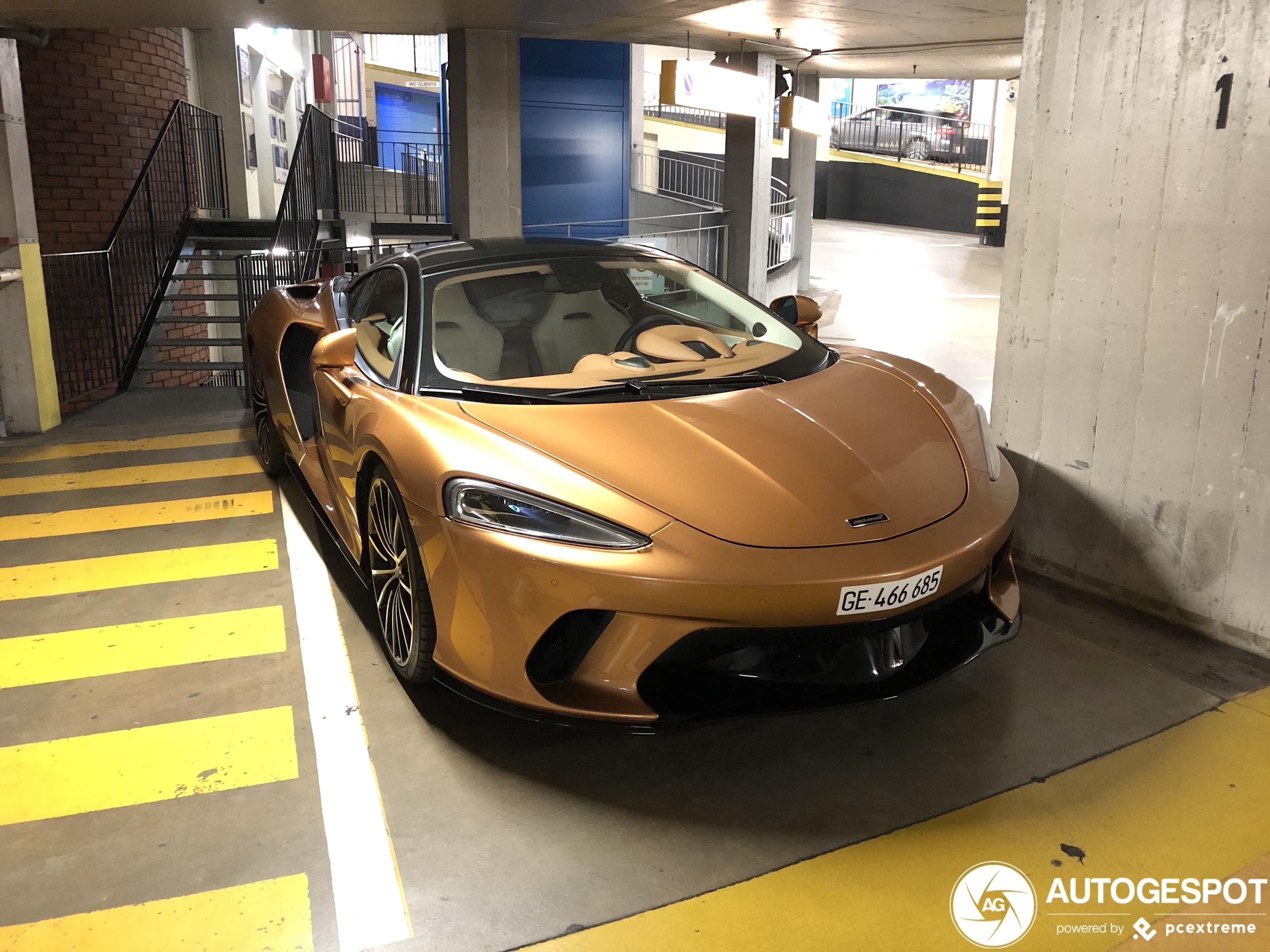 McLaren GT should not be stored away.