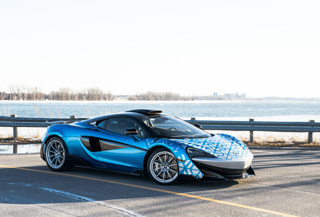 McLaren 600LT MSO Dragon Blue