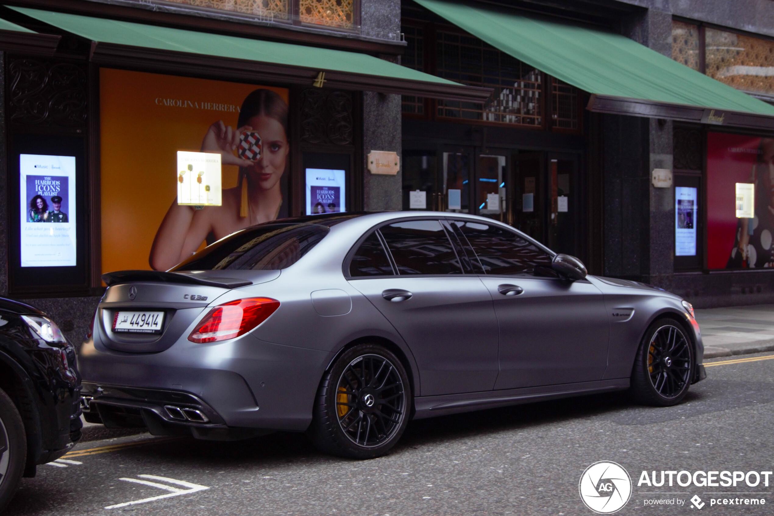 Mercedes-AMG C 63 S heeft speciaal motorkapje