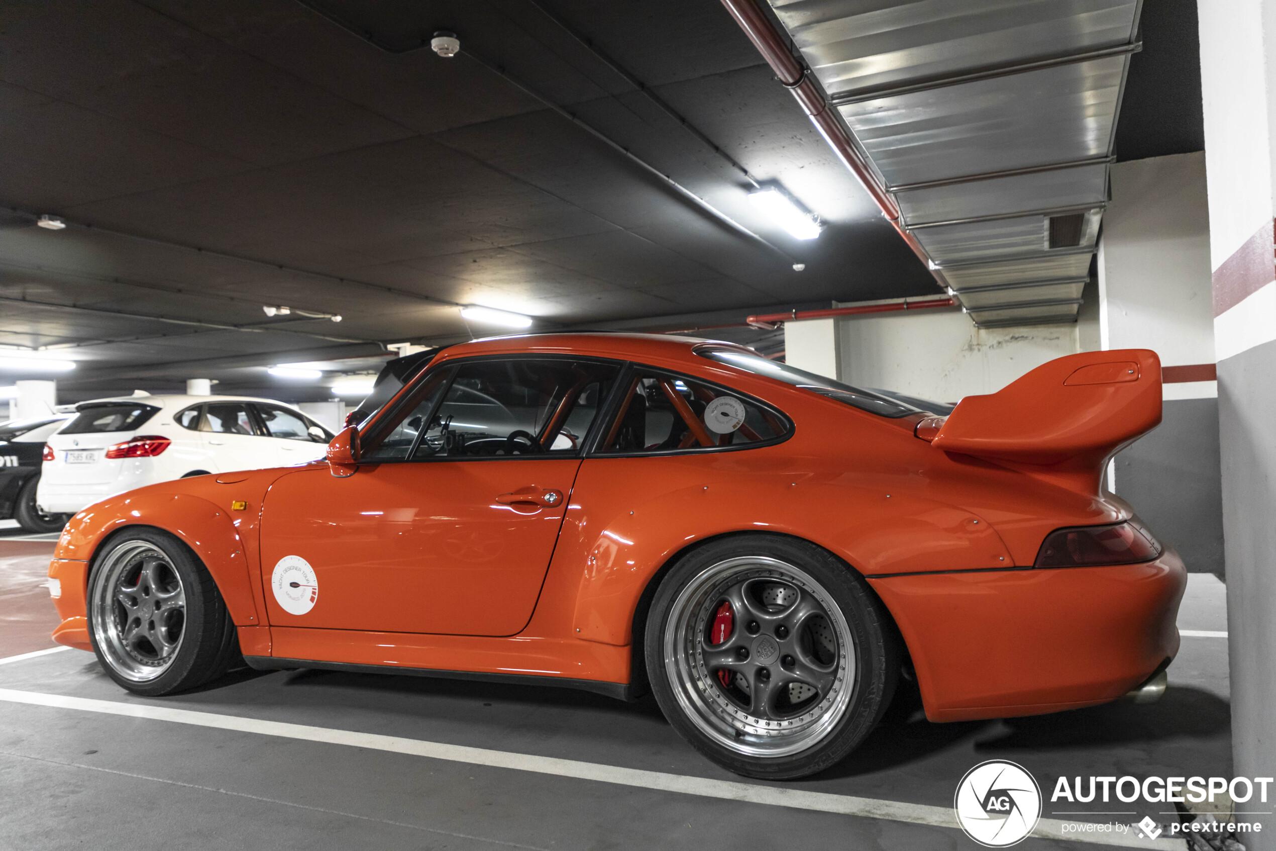 Porsche 993 GT2 blijft een heerlijke rammer