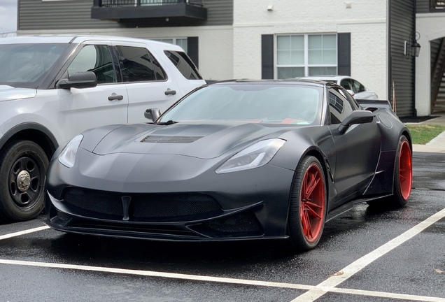 Chevrolet Corvette C7 Stingray Ivan Tampi Customs XIK Widebody