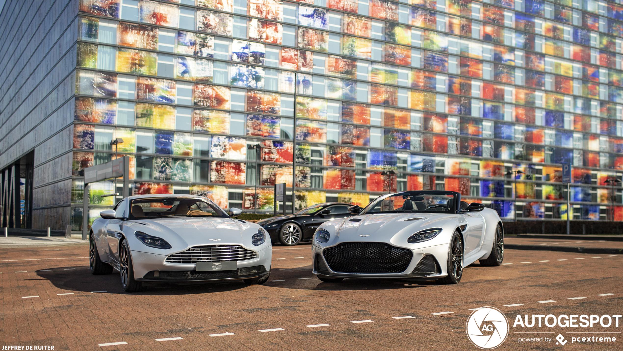 Aston Martin DBS Superleggera Volante pakt glansrijk de hoofdrol