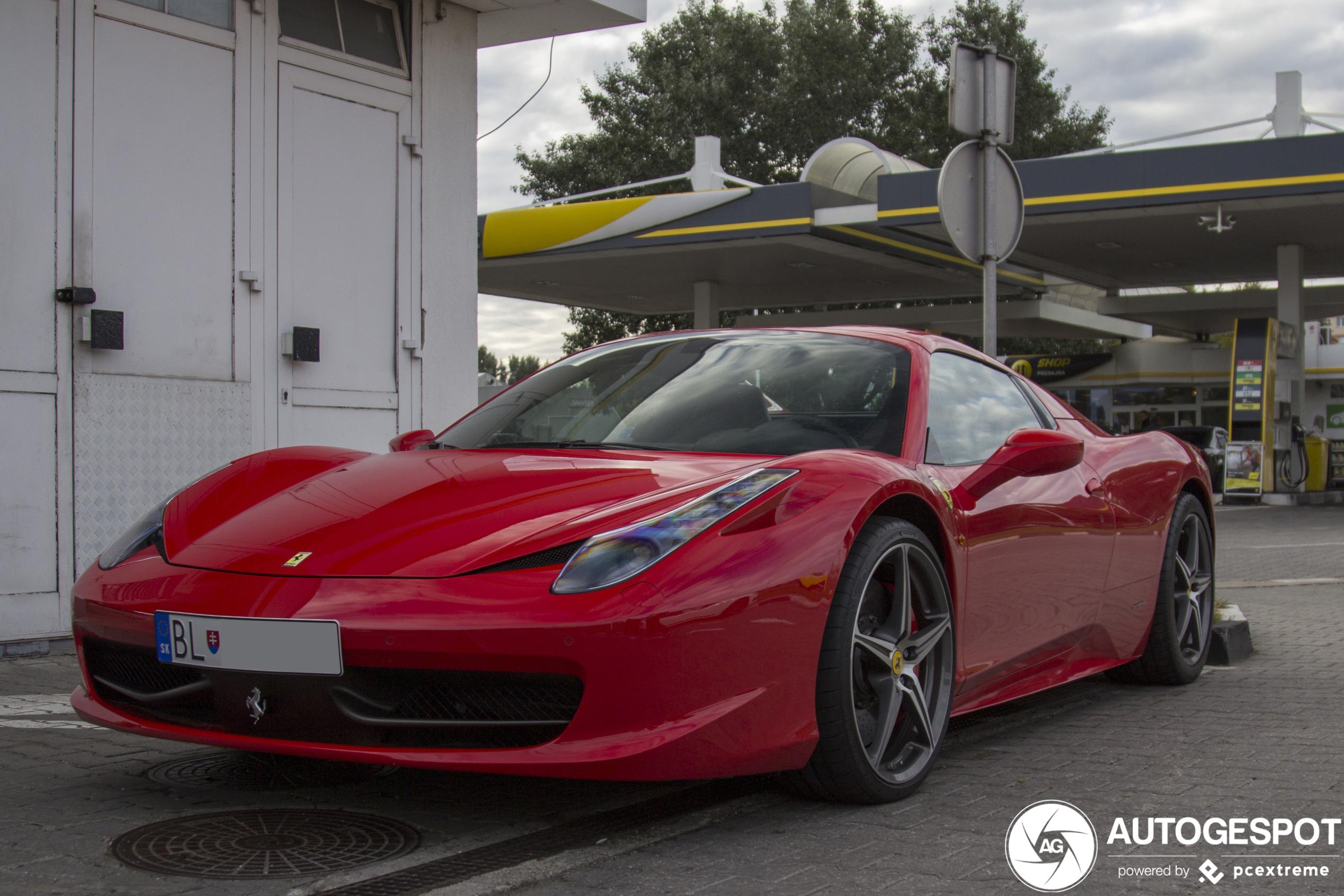 Ferrari 458 Spider - 28 March 2020 - Autogespot