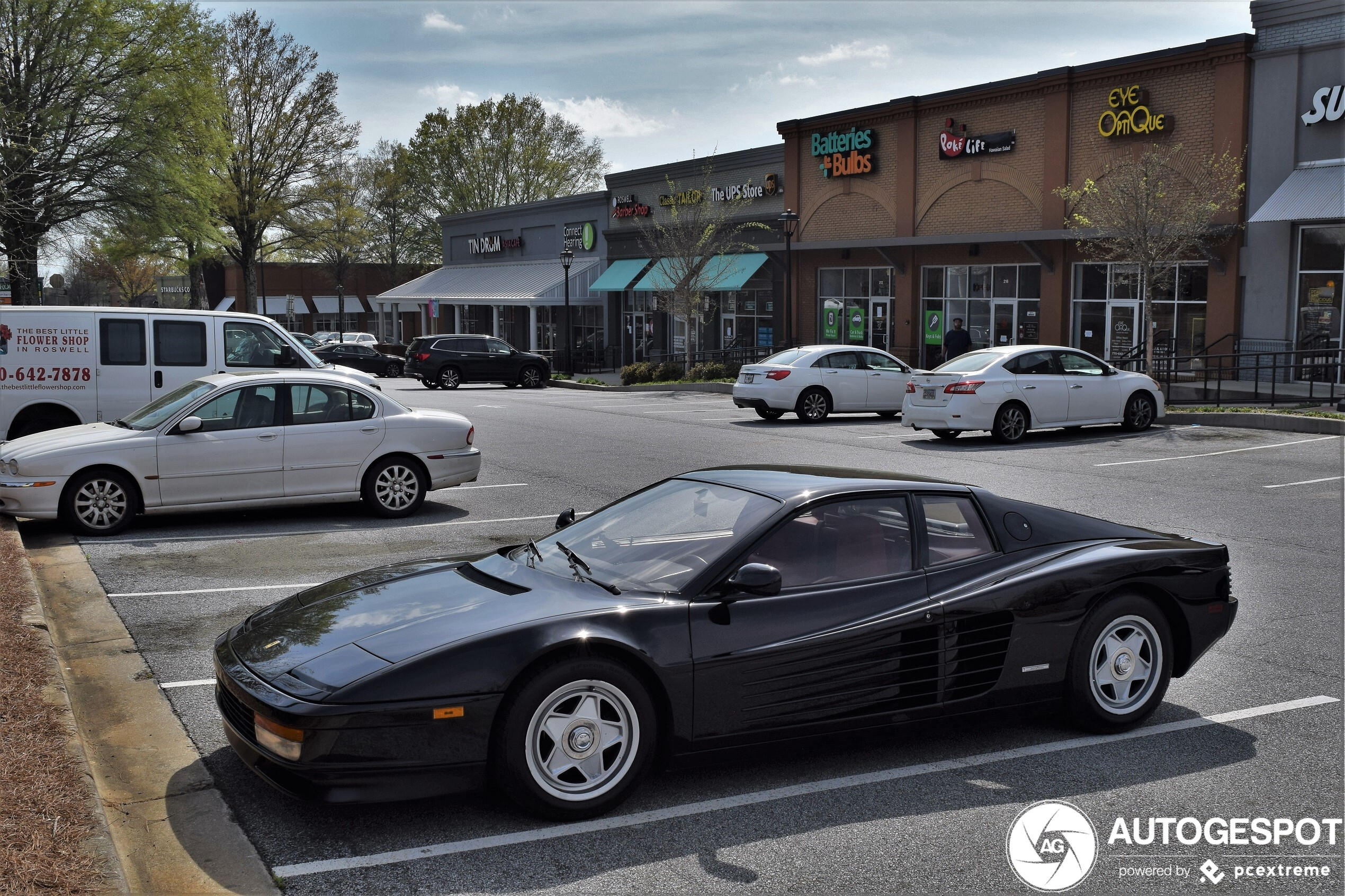 Spot Of The Day Usa Ferrari Testarossa By Horse Power